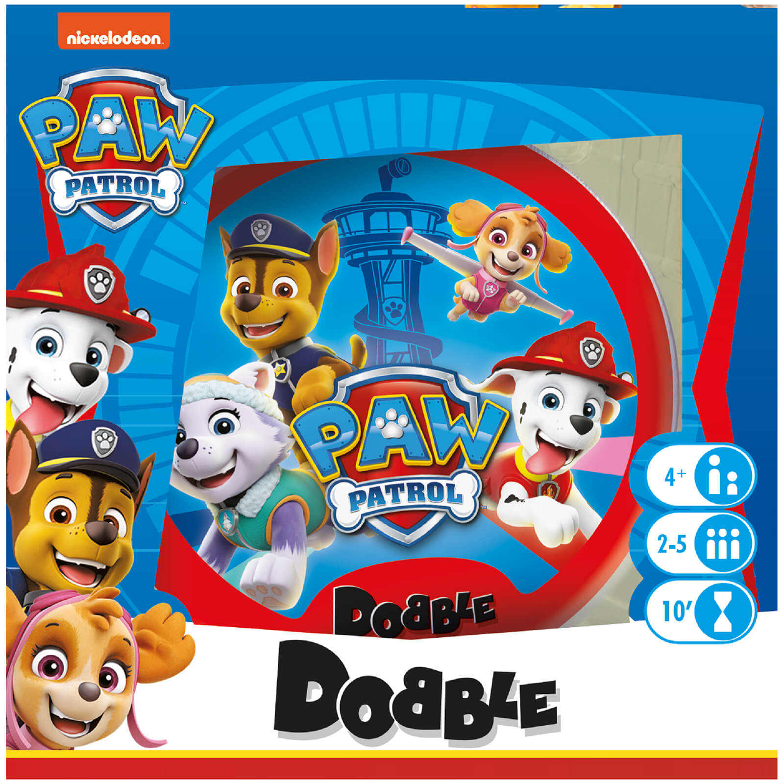 Image of Dobble Card Game - Paw Patrol Edition
