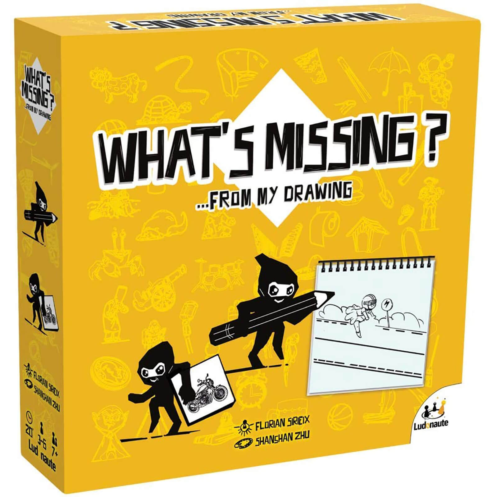 What's Missing Board Game