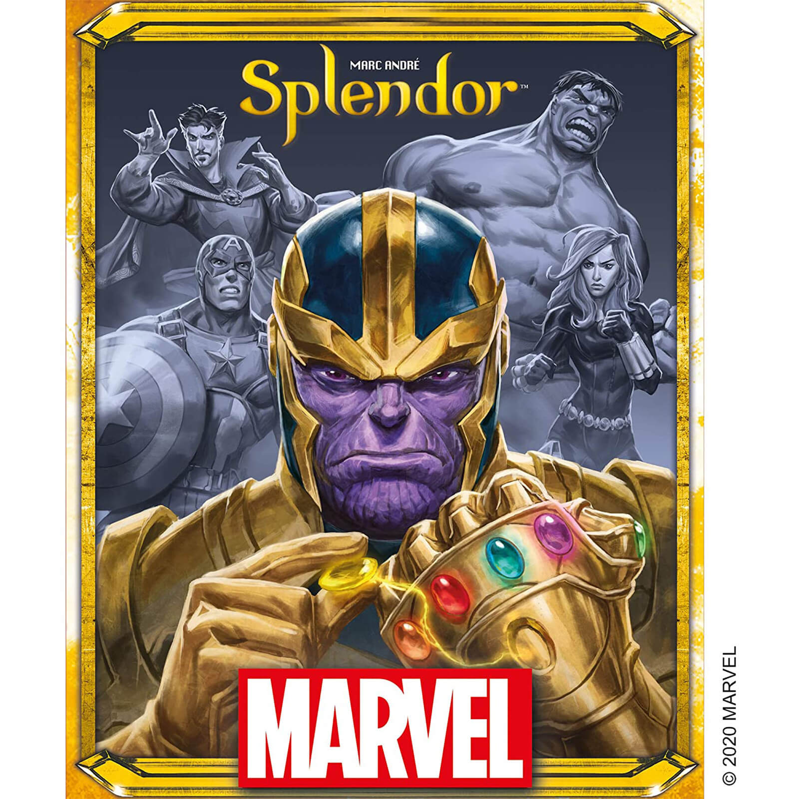 Image of Splendor Board Game - Marvel Edition