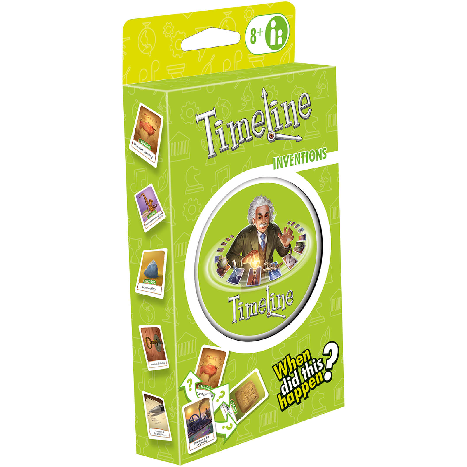 Image of Timeline Card Game - Inventions Edition