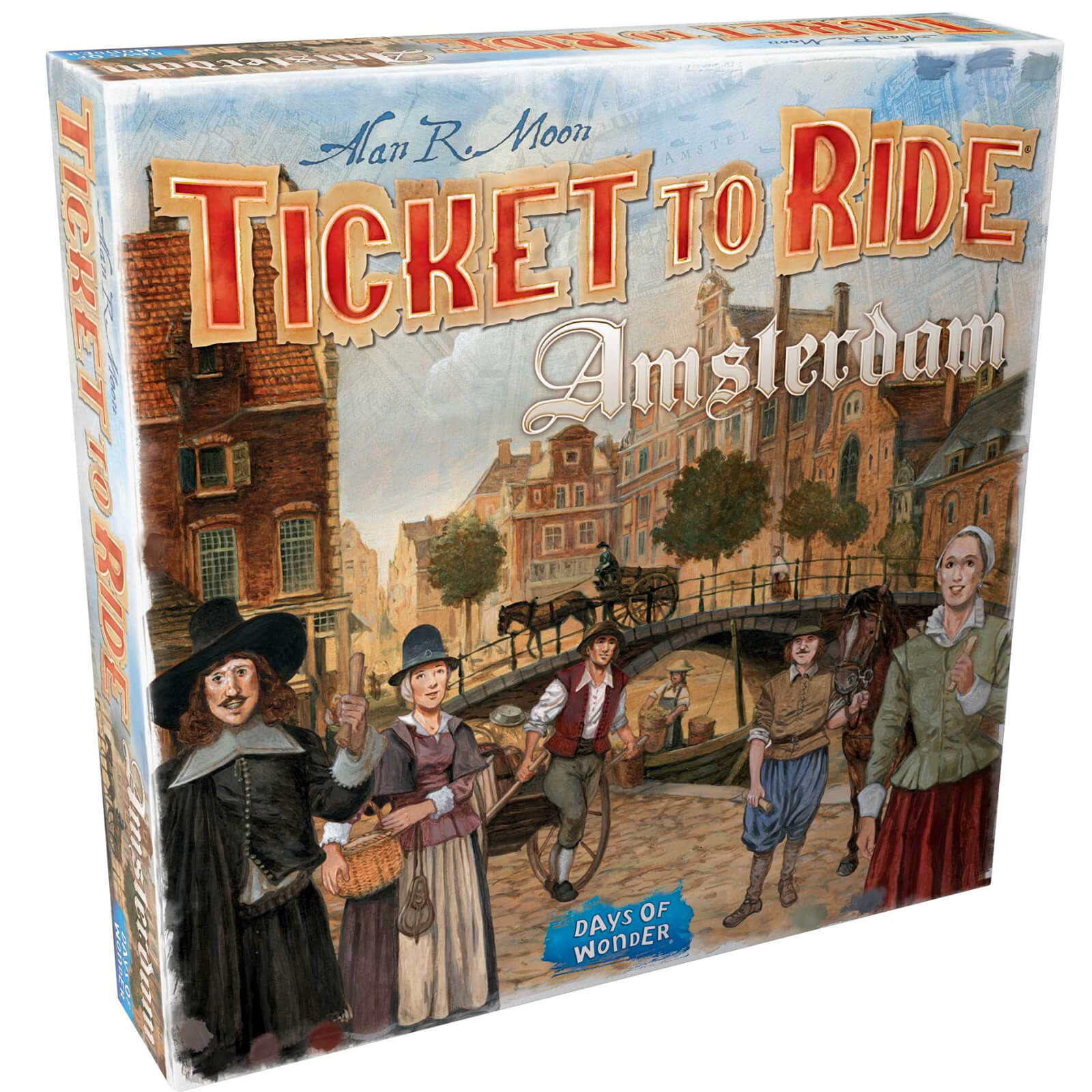 Ticket To Ride Board Game - Amsterdam Edition