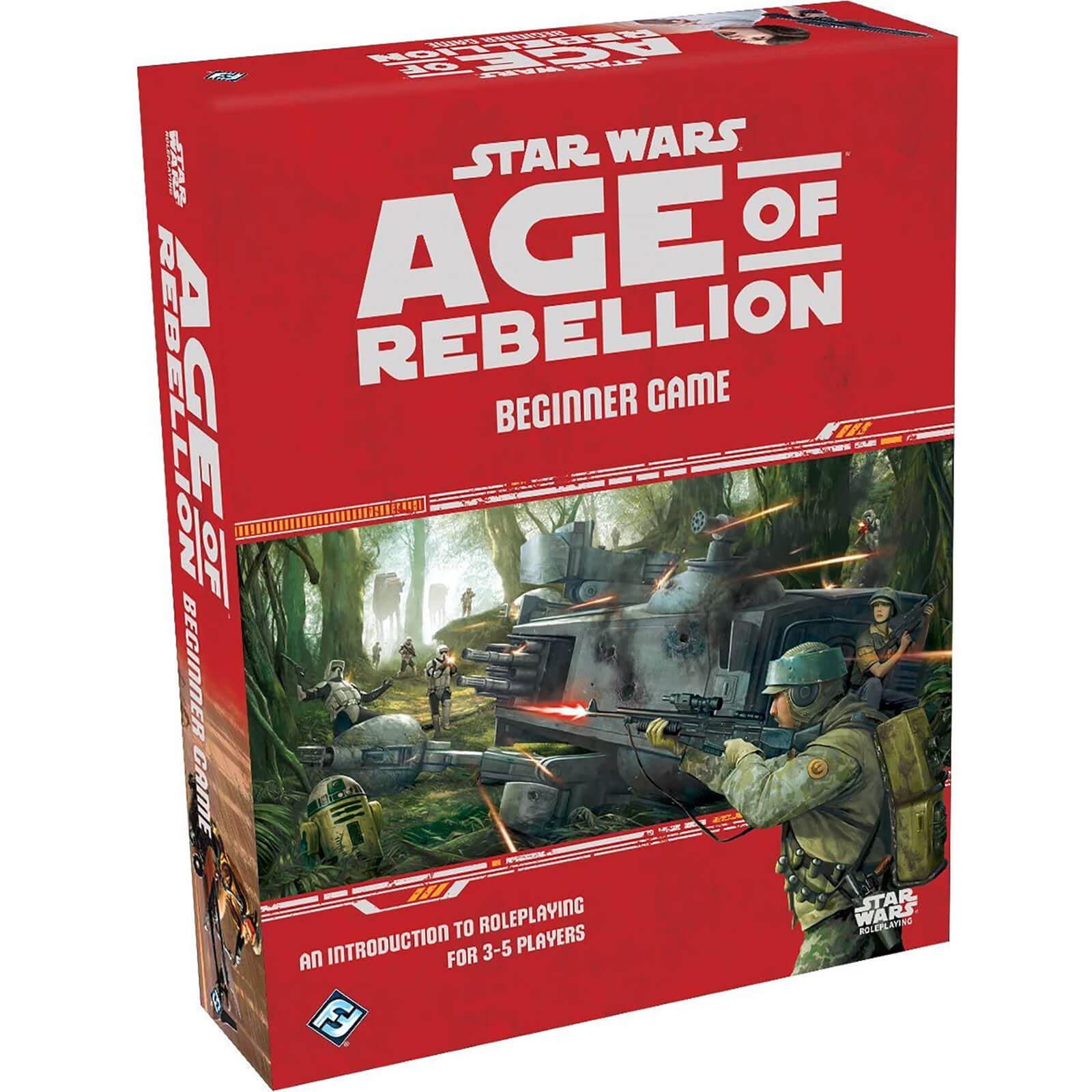 Image of Star Wars: Age of Rebellion Beginner Board Game