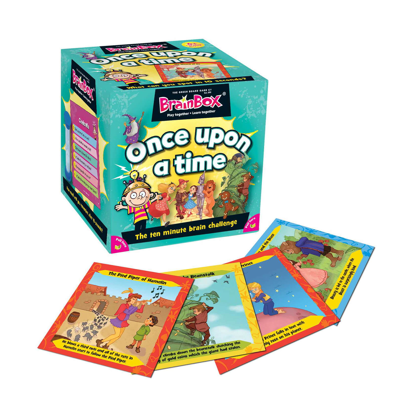 BrainBox Card Game - Once Upon a Time Edition (55 Cards)