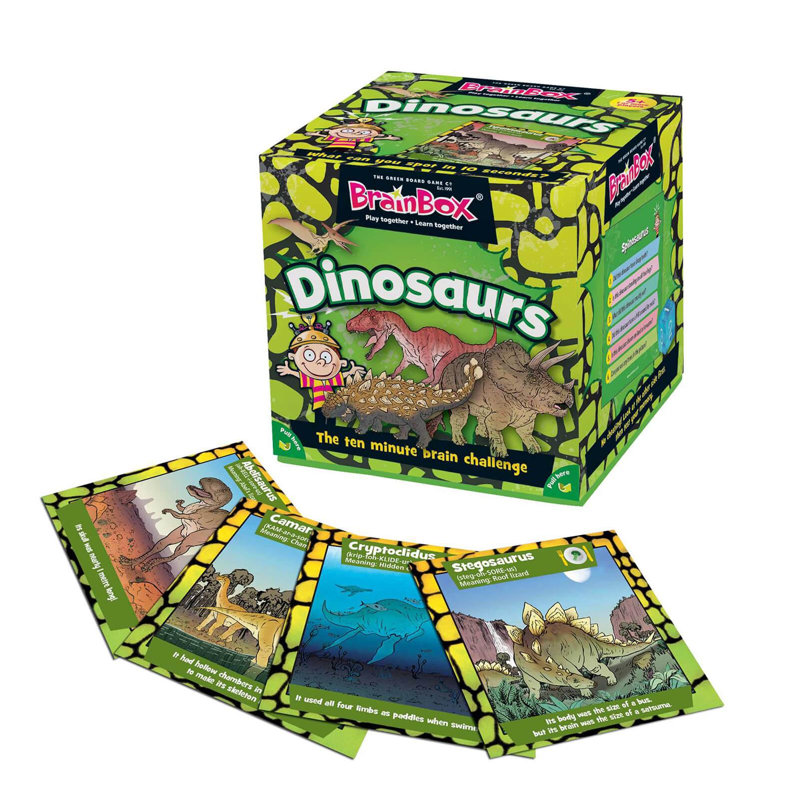 BrainBox Card Game - Dinosaurs Edition (55 cards)