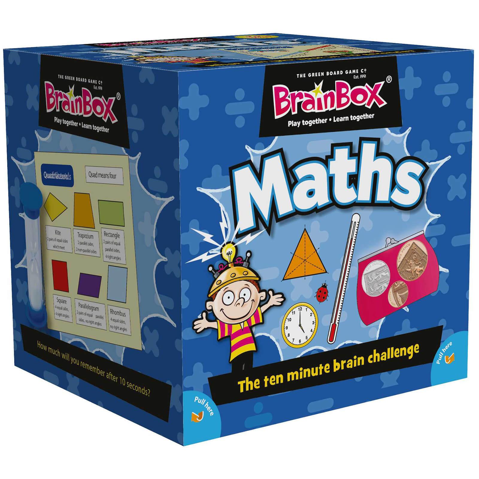 BrainBox Card Game - Maths Edition Refresh (55 cards)