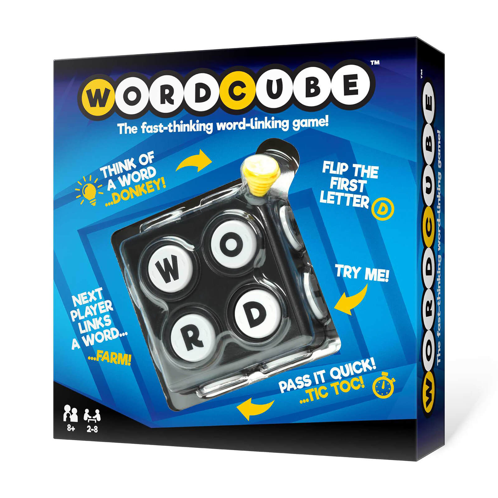 Image of Word Cube Game