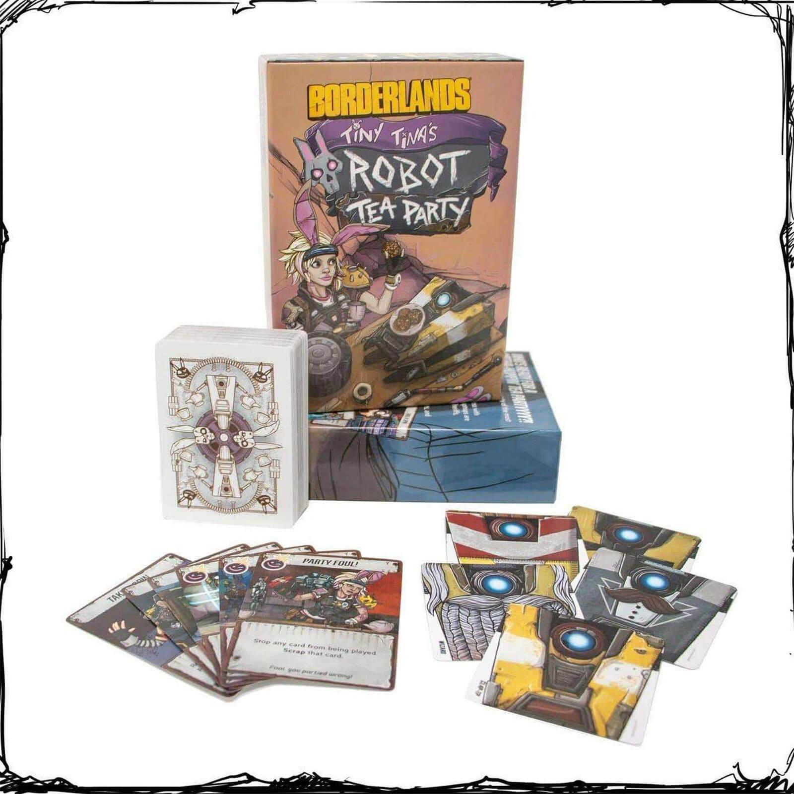 Image of Borderlands: Tiny Tina's Robot Tea Party Board Game