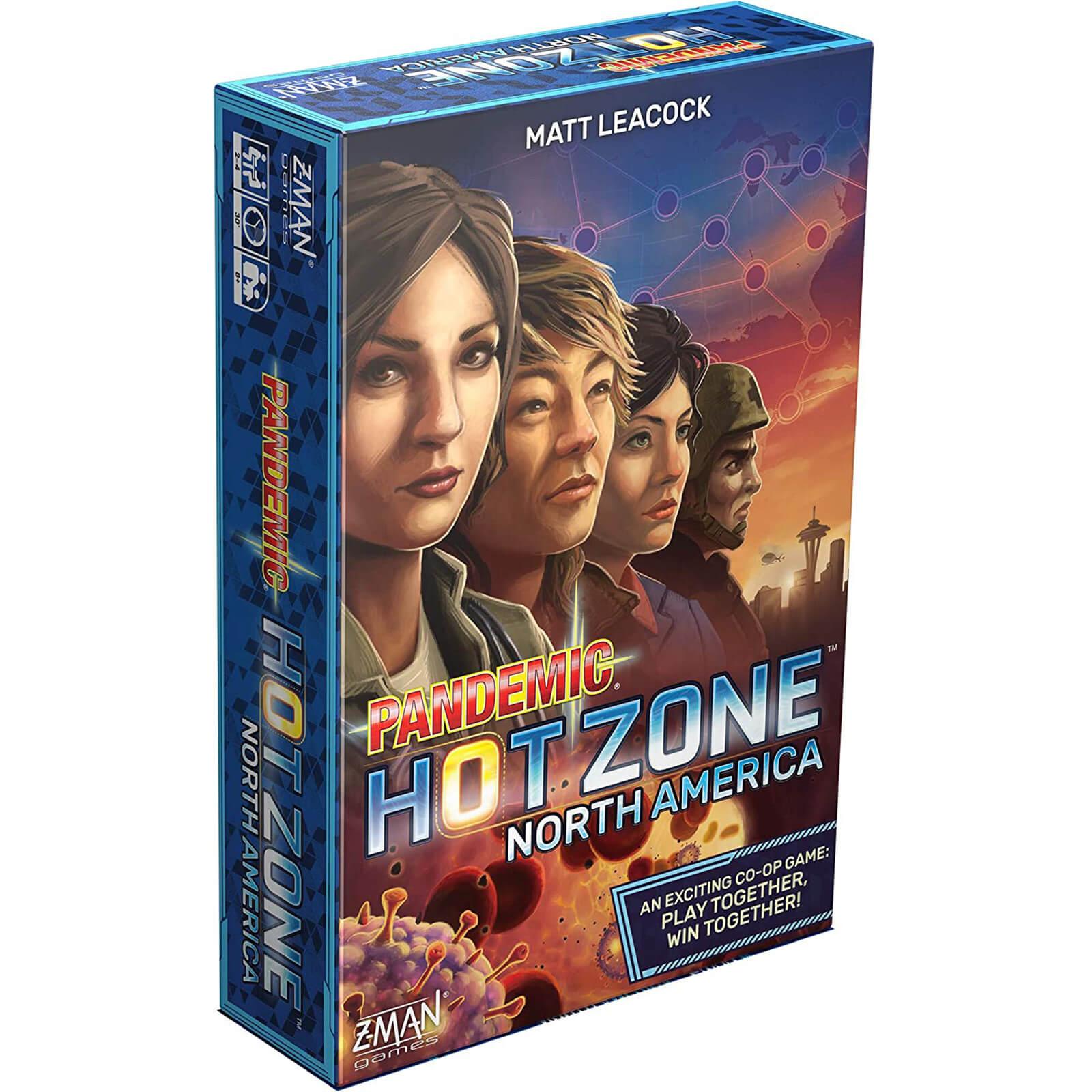 Pandemic Hot Zone North America Board Game