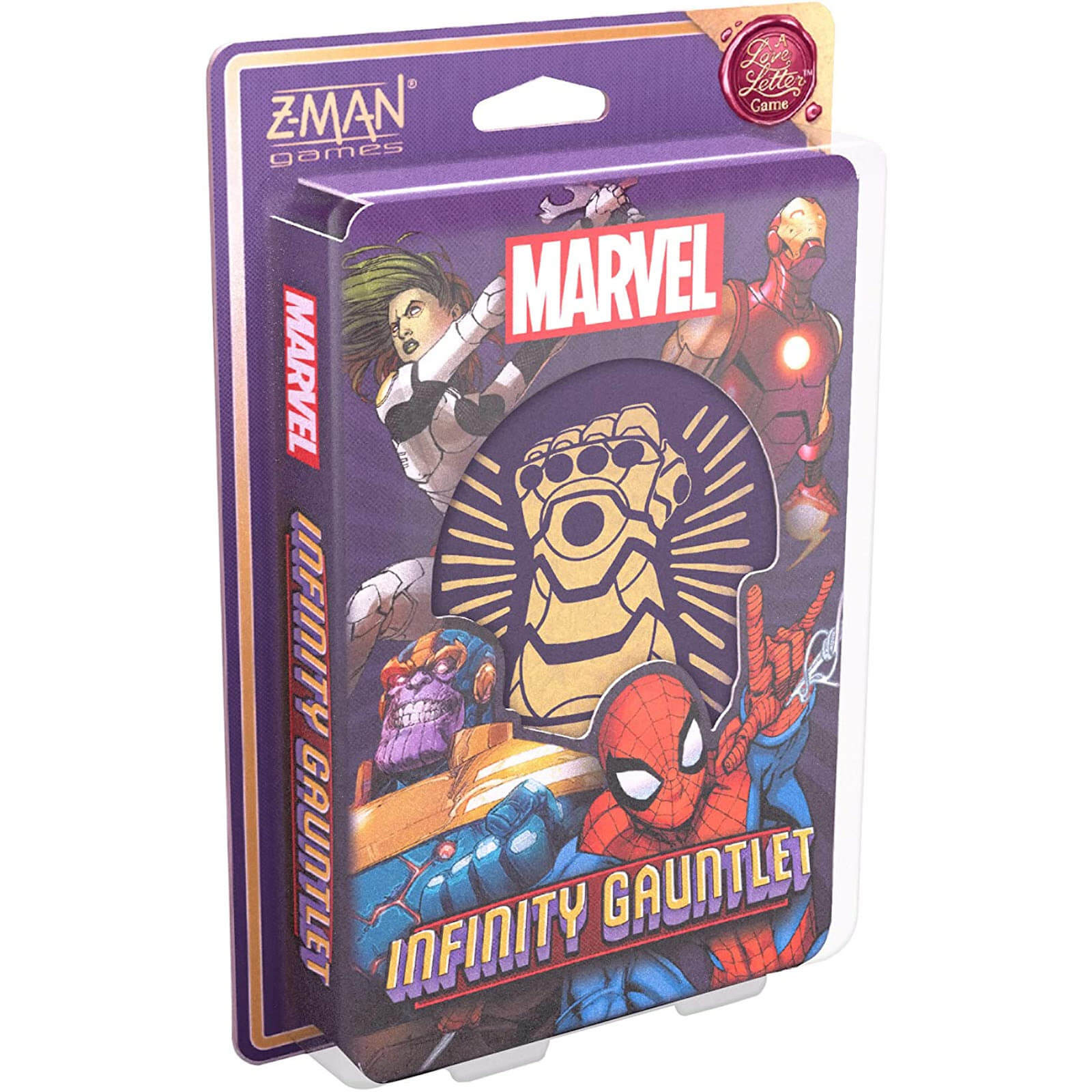 Image of A Love Letter Card Game - Infinity Gauntlet Edition