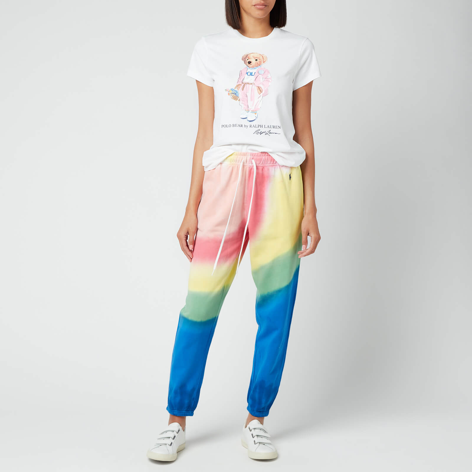polo ralph lauren women's tie dye sweatpants - stp tie dye - xs