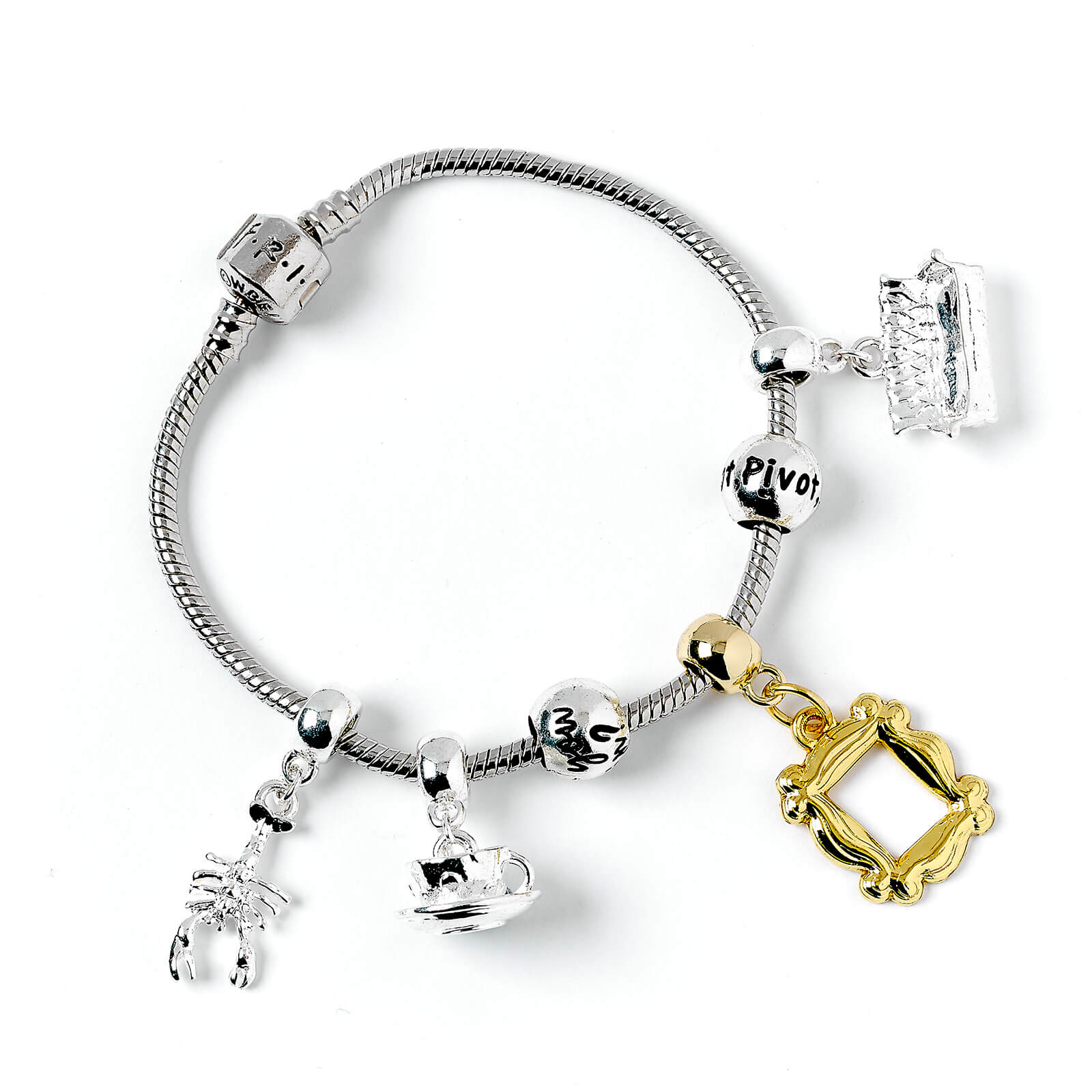 Image of Friends Charm & Bracelet Set