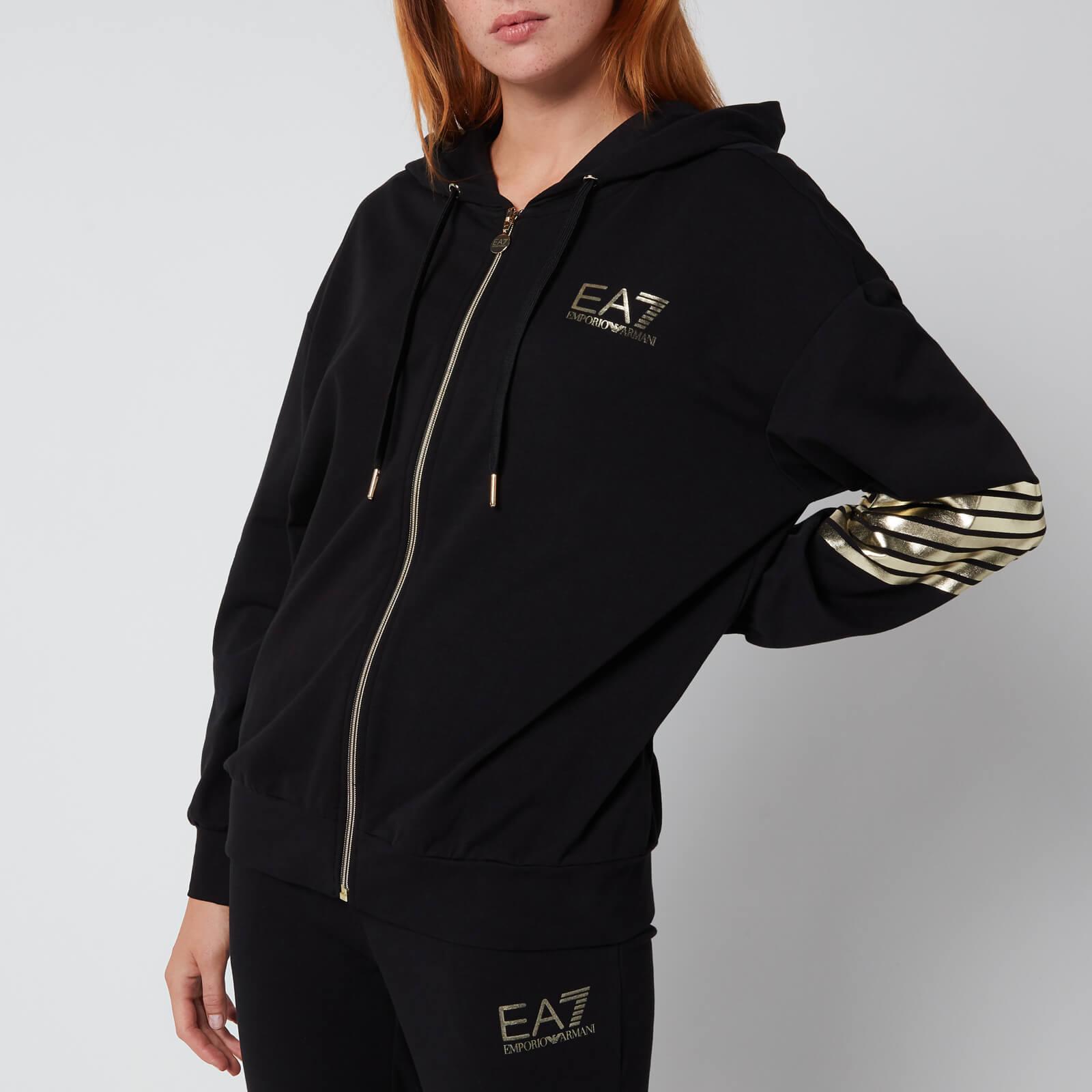 emporio armani ea7 women's train 7 lines track suit - black - xs