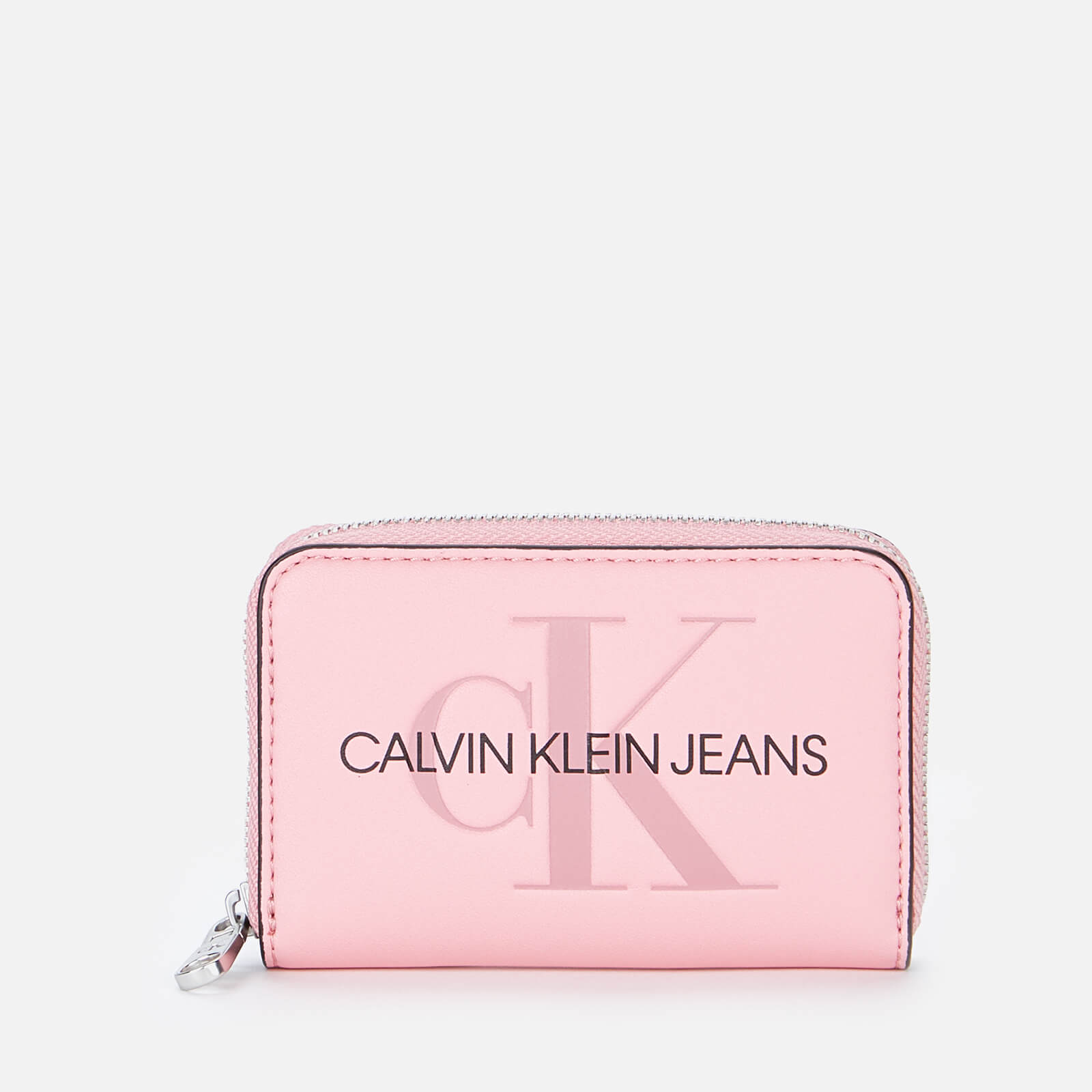 Calvin Klein Jeans Women's Accordion Zip Around - Soft Berry
