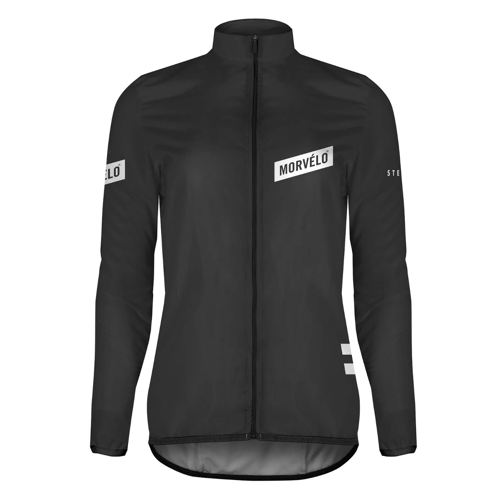 Morvelo Women's Stealth Aegis Packable Windproof Jacket - XS