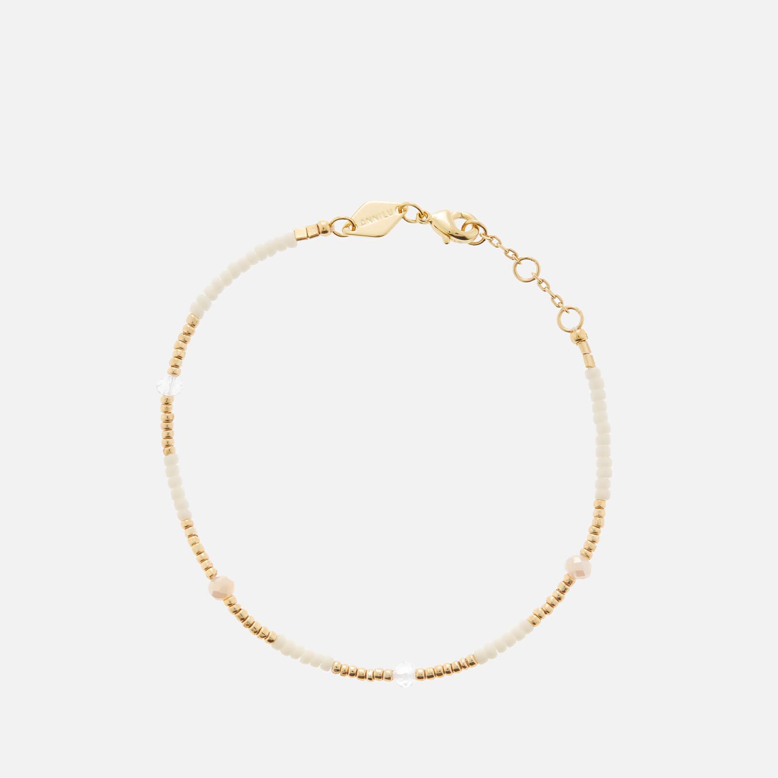 Anni Lu Women's Clemence Bracelet - Ecru