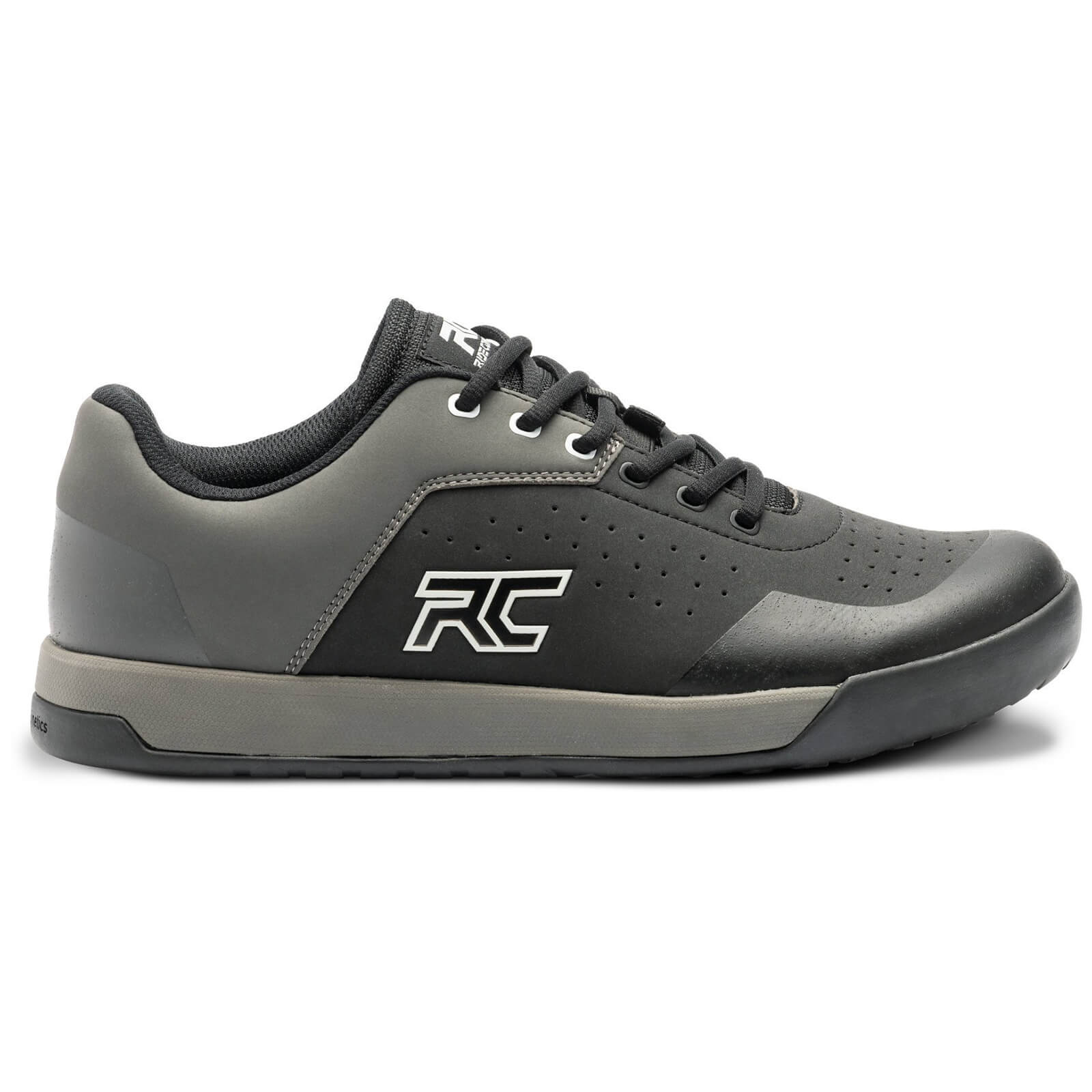 Ride Concepts Hellion Elite Flat MTB Shoes - UK 7.5/EU 41.5 - Black/Charcoal