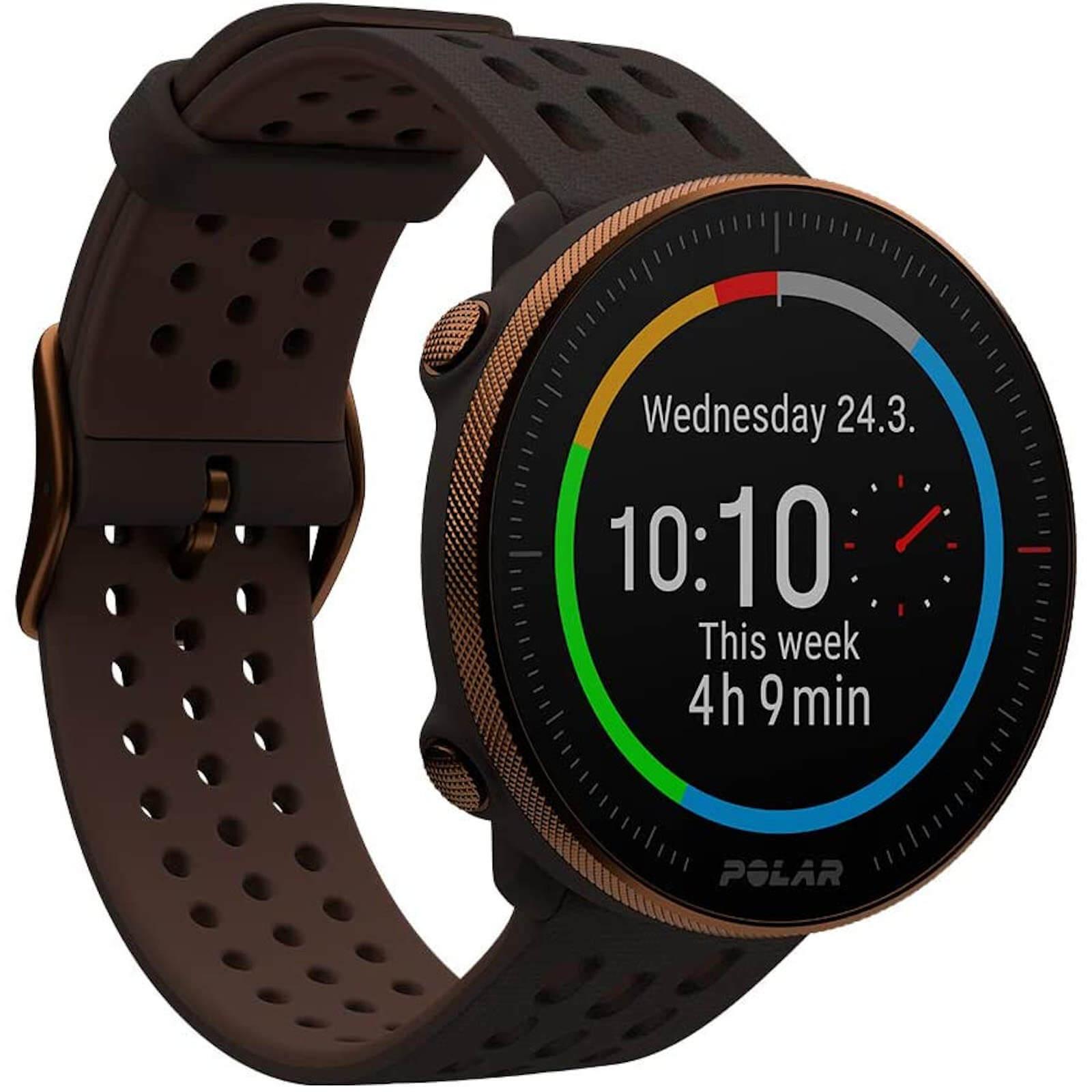 Polar Vantage M2 Multisport Watch - Brown