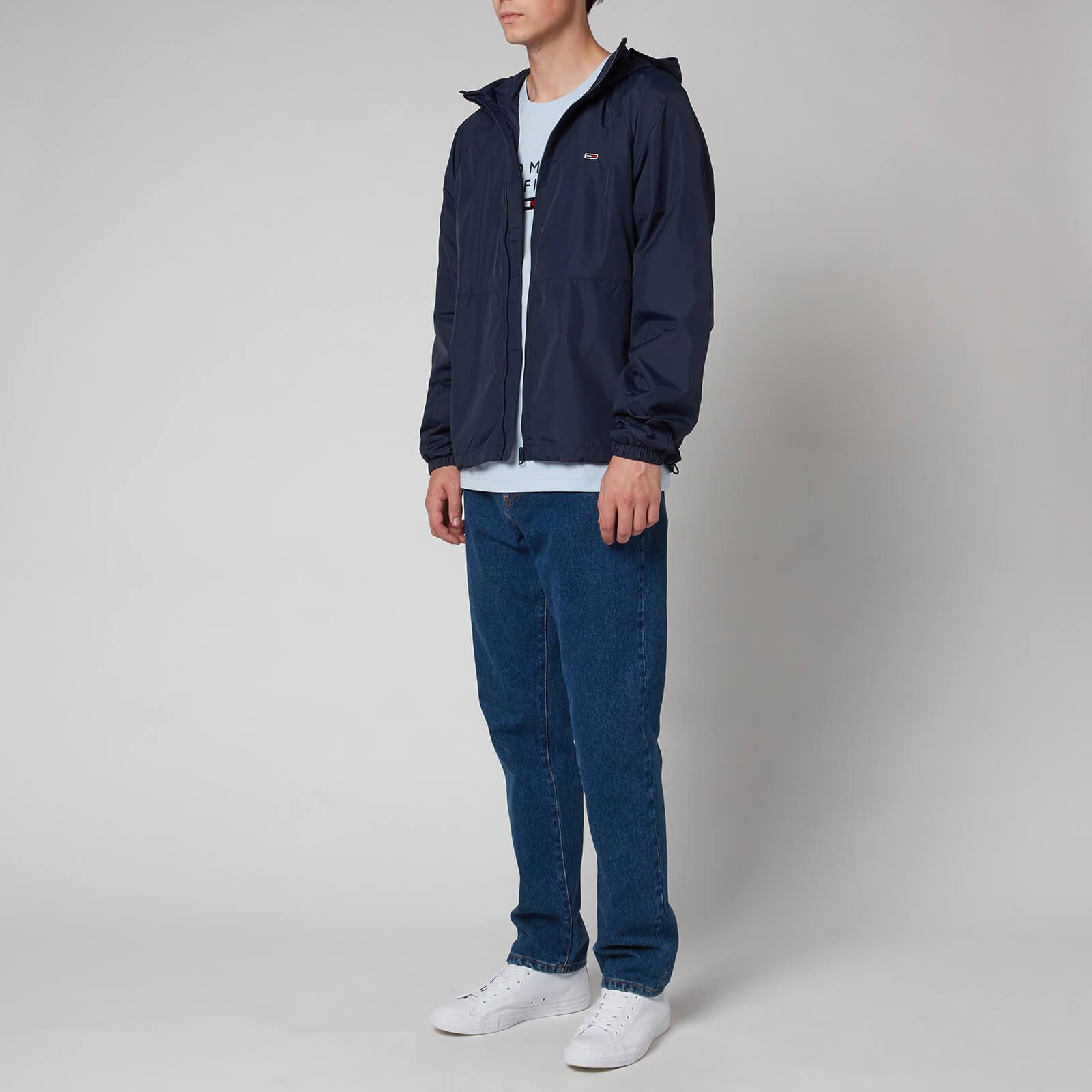 Tommy Jeans Men's Packable Windbreaker - Twilight Navy - S