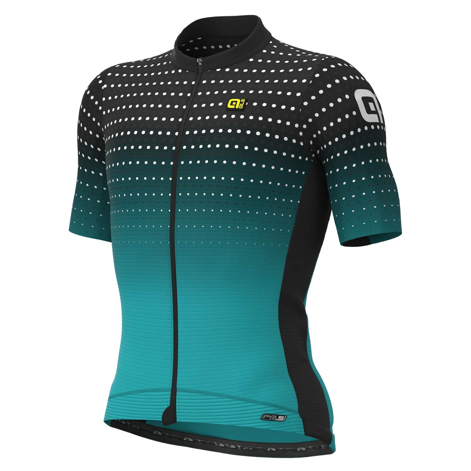 Ale PR-S Bullett Jersey - L - Black/Aqua