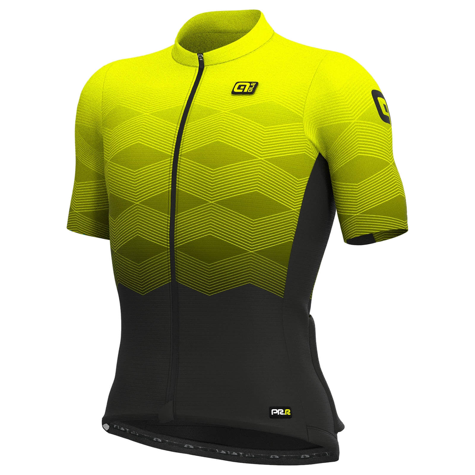 Ale PRR Magnitude Jersey - S - Fluo Yellow