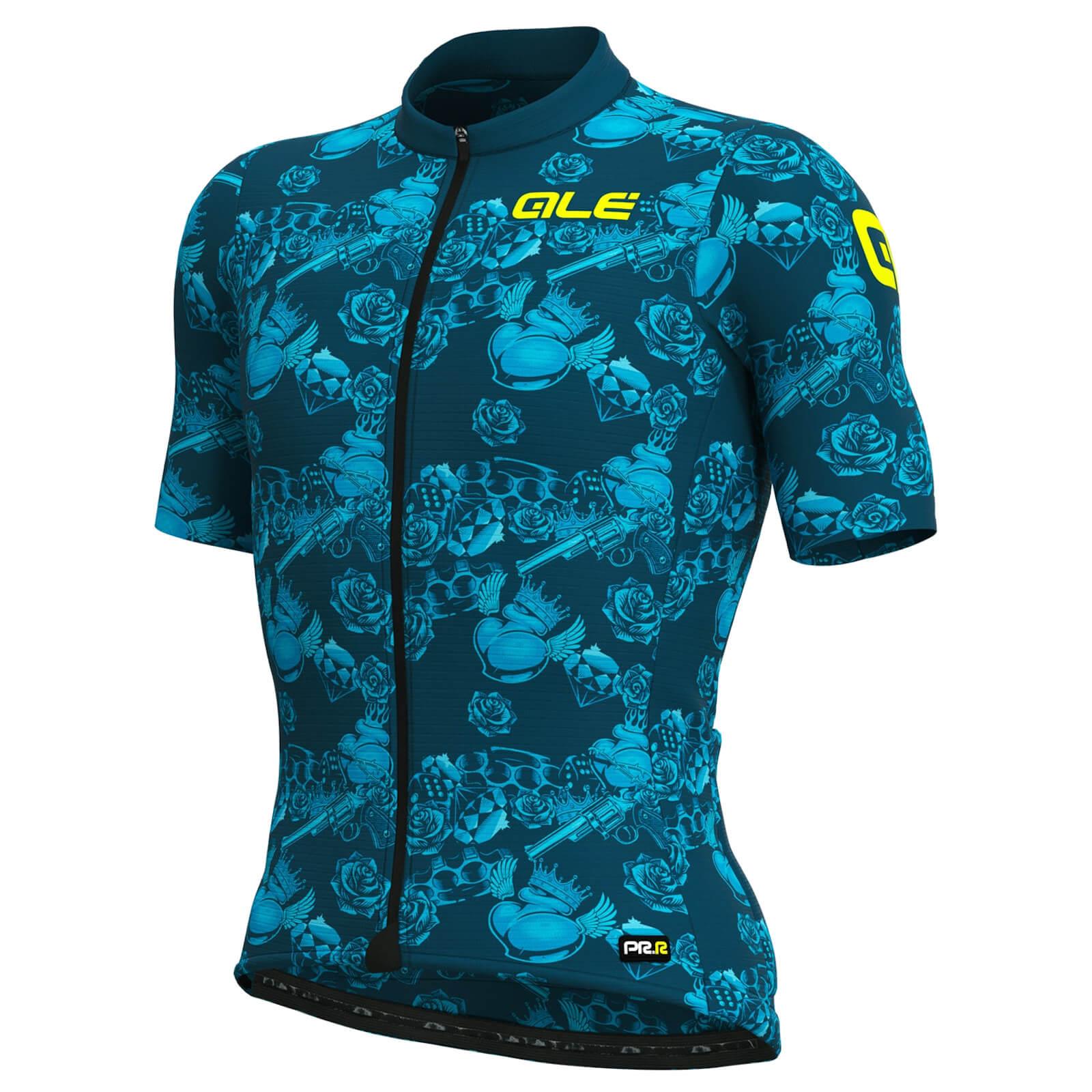 Al R-ev1 Race Jersey - S - Blue