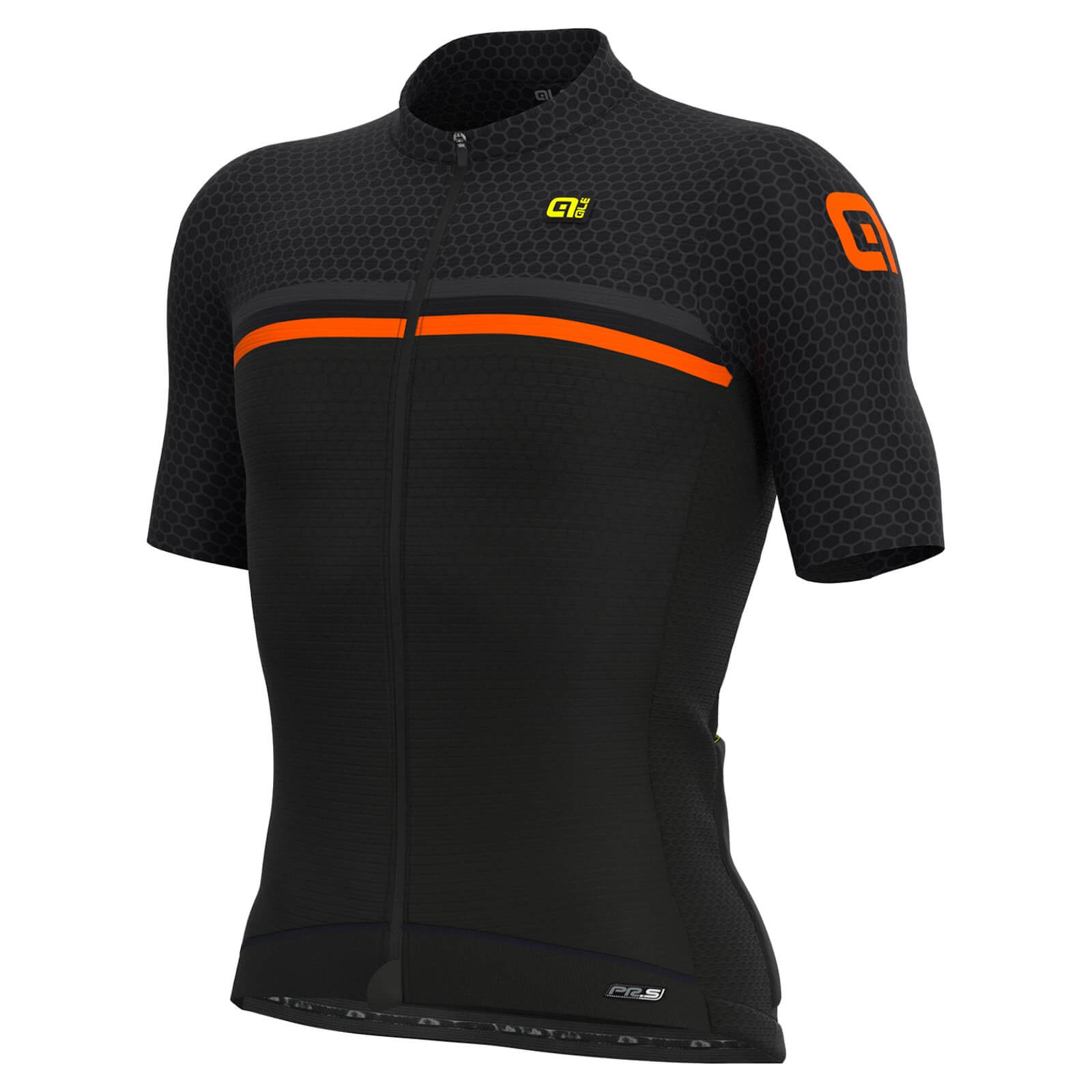 Al Solid Ergo Jersey - L - Fluo Blue/fluo Green