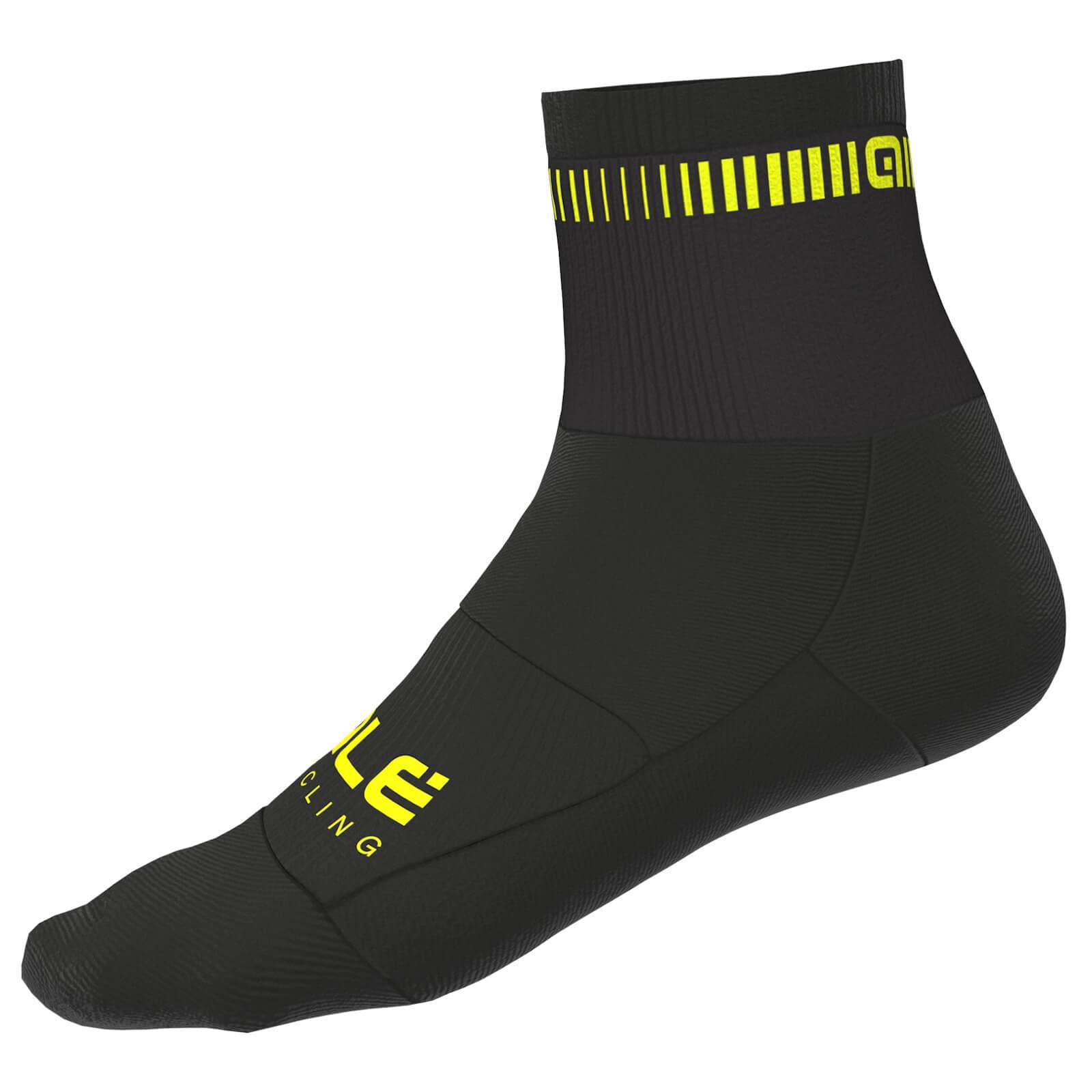 Al Chrono Gloves - Yellow/black - L - Yellow/black