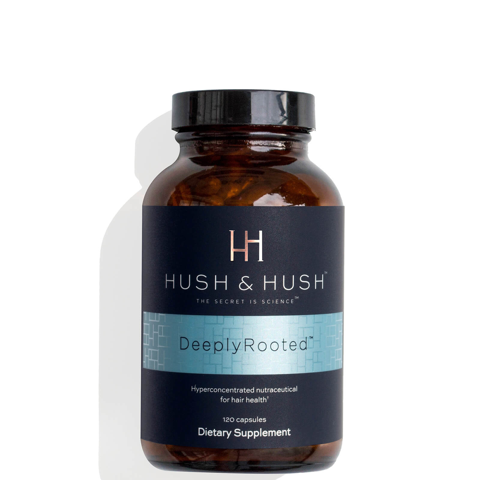 Hush & Hush DeeplyRooted® Hair Supplement 120 Capsules