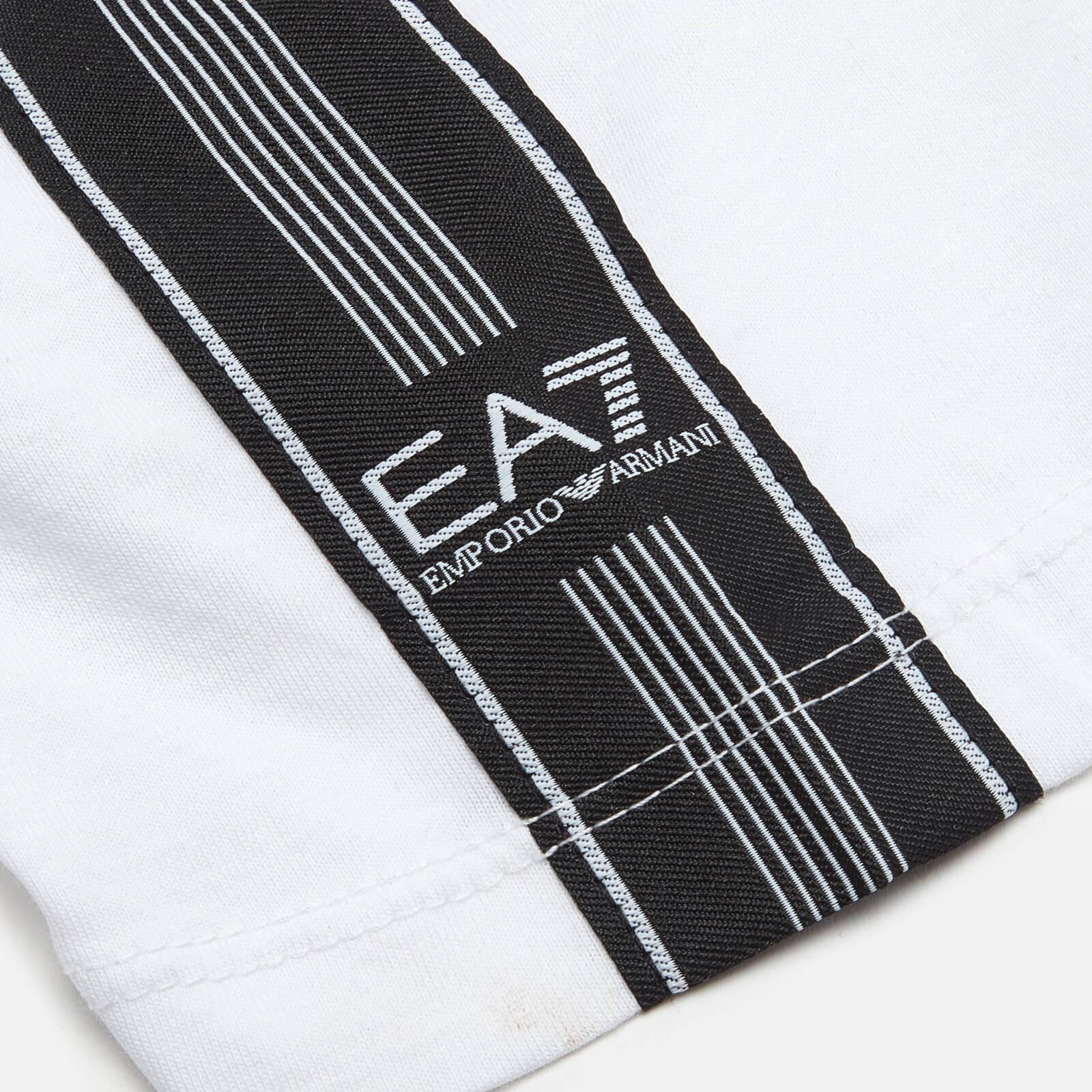 Ea7 Boys' Train Logo T-Shirt - White - 8 Years