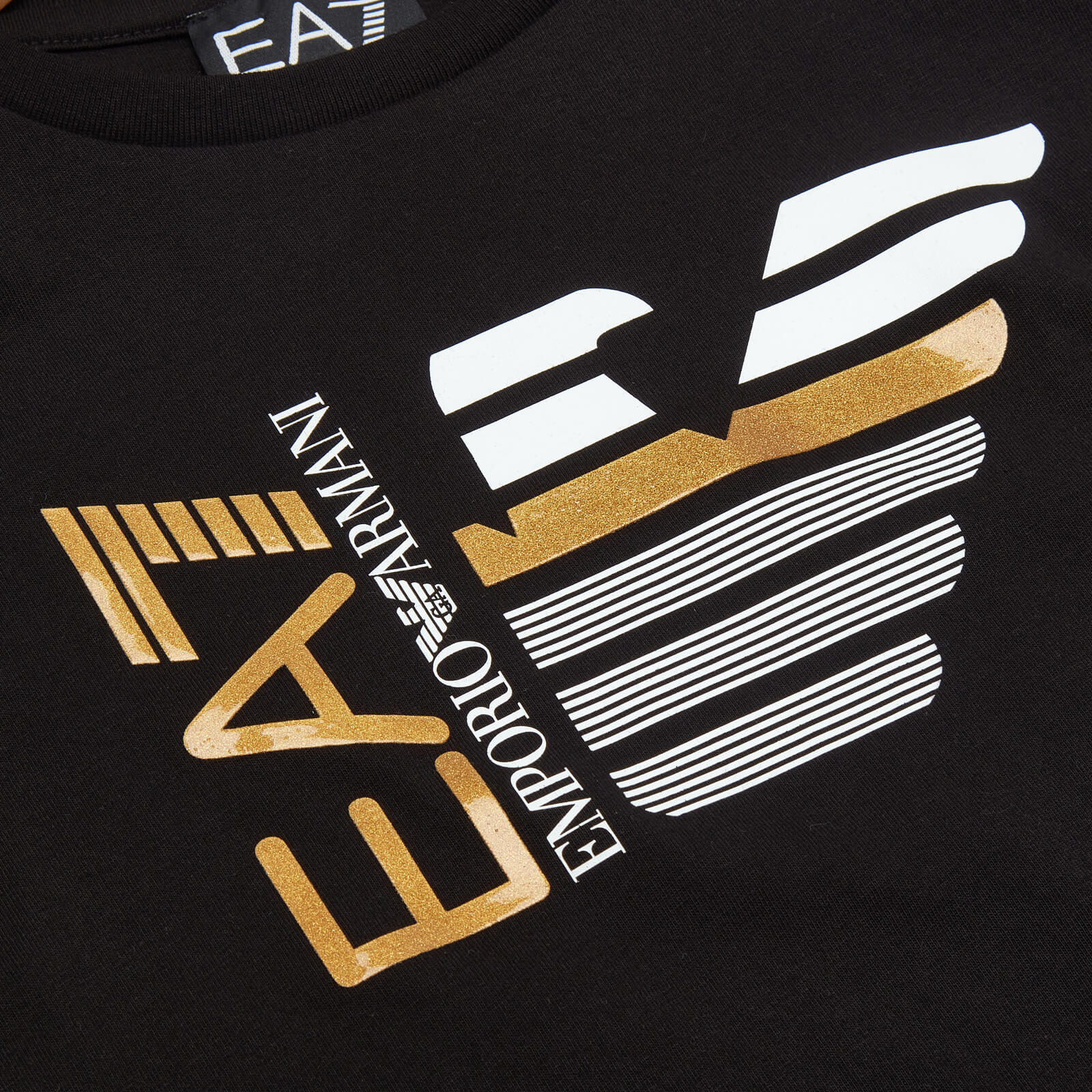Ea7 Boys' Capsule Collection T-Shirt - Black - 4 Years