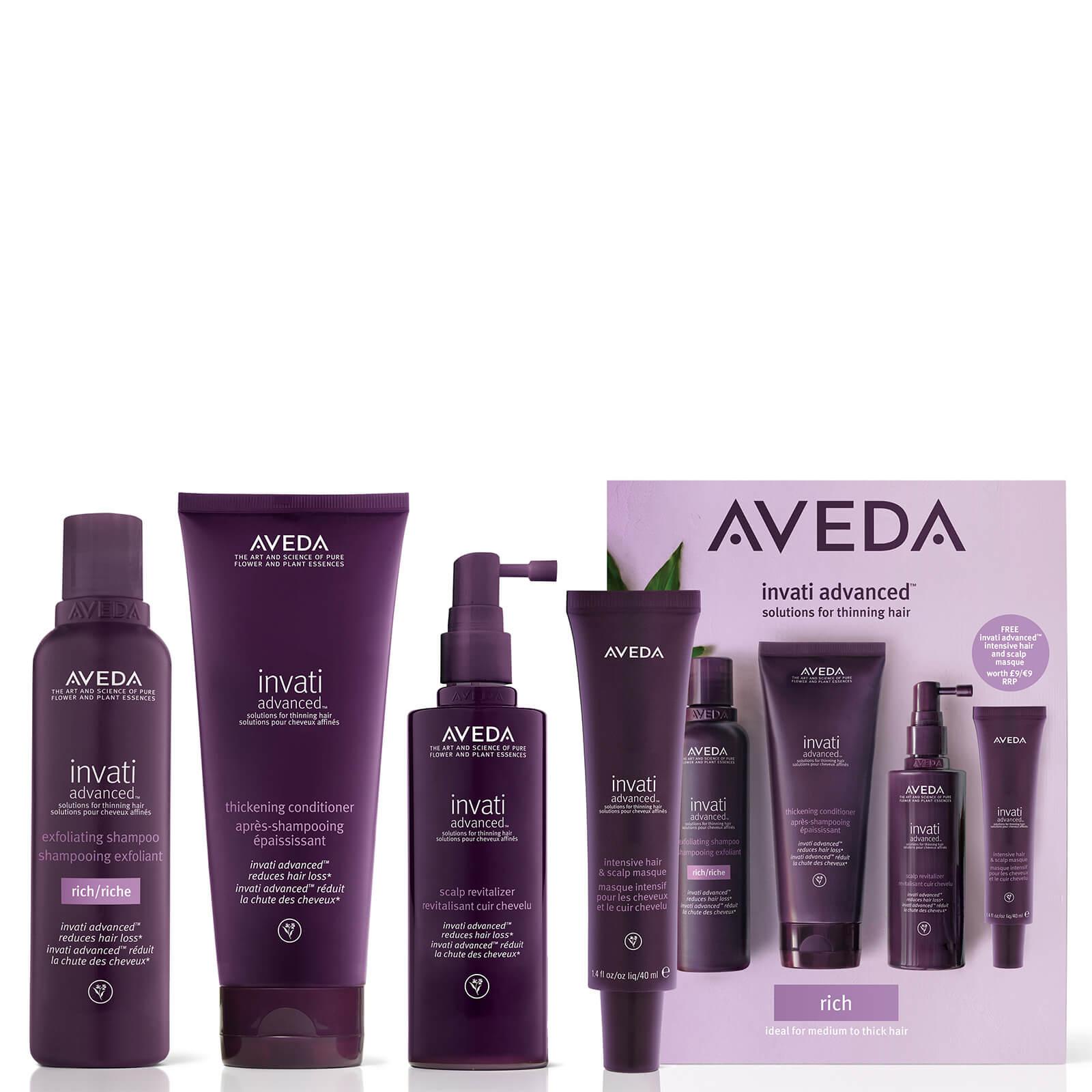 Aveda Exclusive Invati Advanced System Rich Set