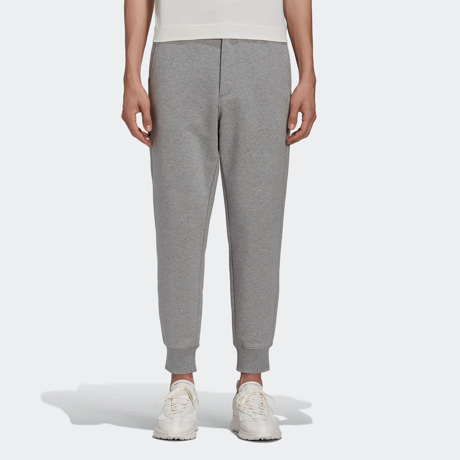 Y-3 Men's Classic Terry Cuffed Pants - Medium Grey Heather - M