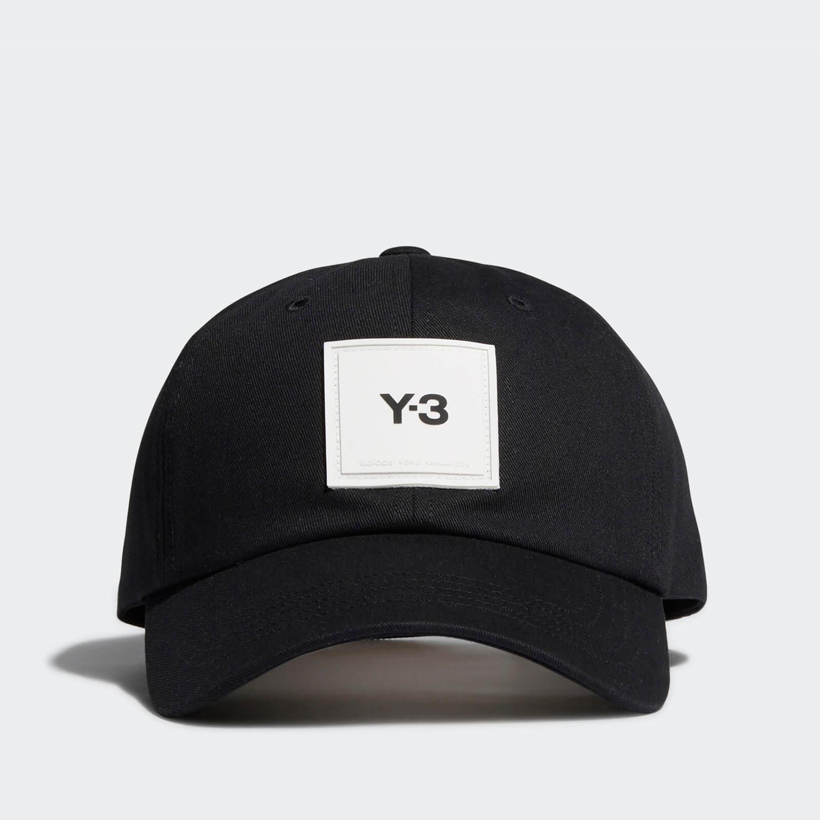 Y-3 Men's Square Label Cap - Black