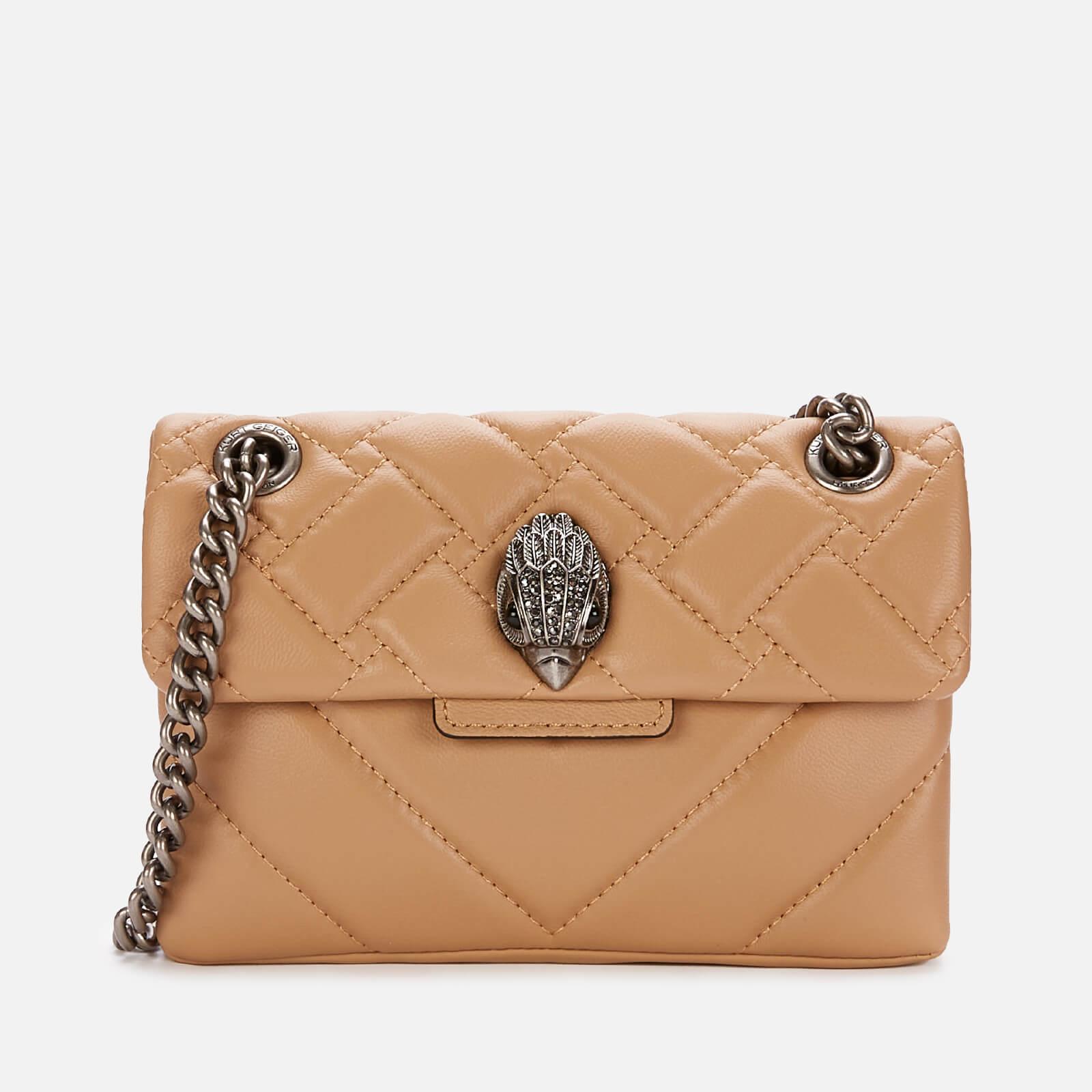 Kurt Geiger London Women's Mini Kensington X Bag - Camel