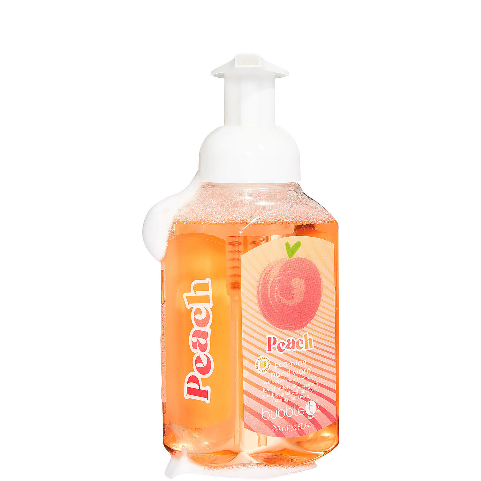 Купить Пенка для мытья рук Bubble T Foaming Hand Wash - Персик, 250 мл