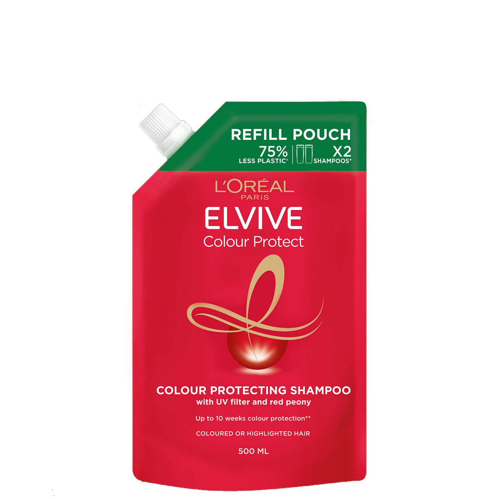 L'Oréal Paris Elvive Colour Protect Shampoo Refill Pouch 500ml