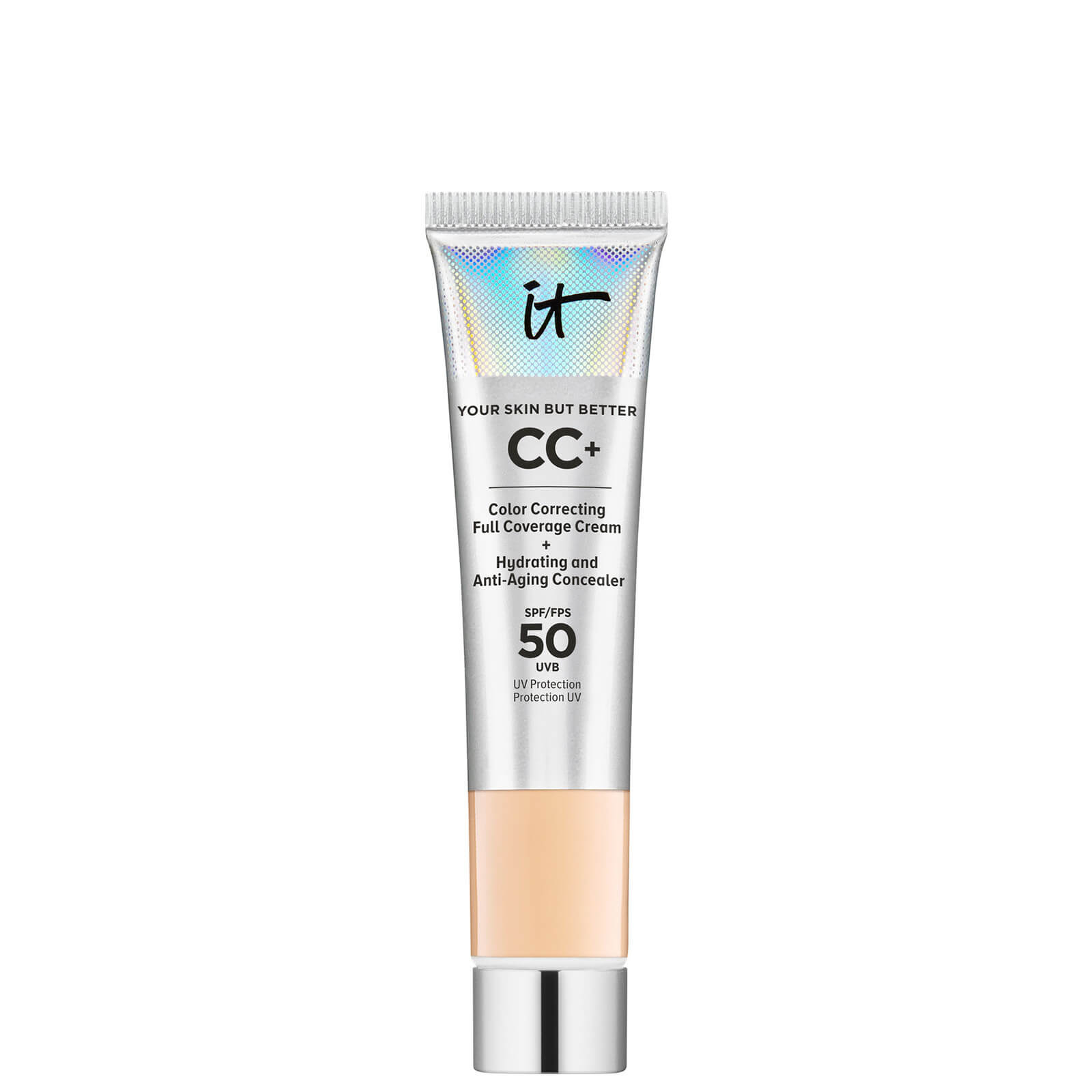 IT Cosmetics Your Skin But Better CC+ Cream with SPF50 12ml (Various Shades) - Medium