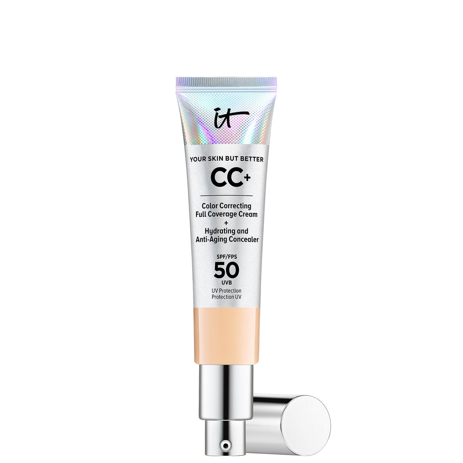 Купить IT Cosmetics Your Skin But Better CC+ Cream with SPF50 32ml (Various Shades) - Medium