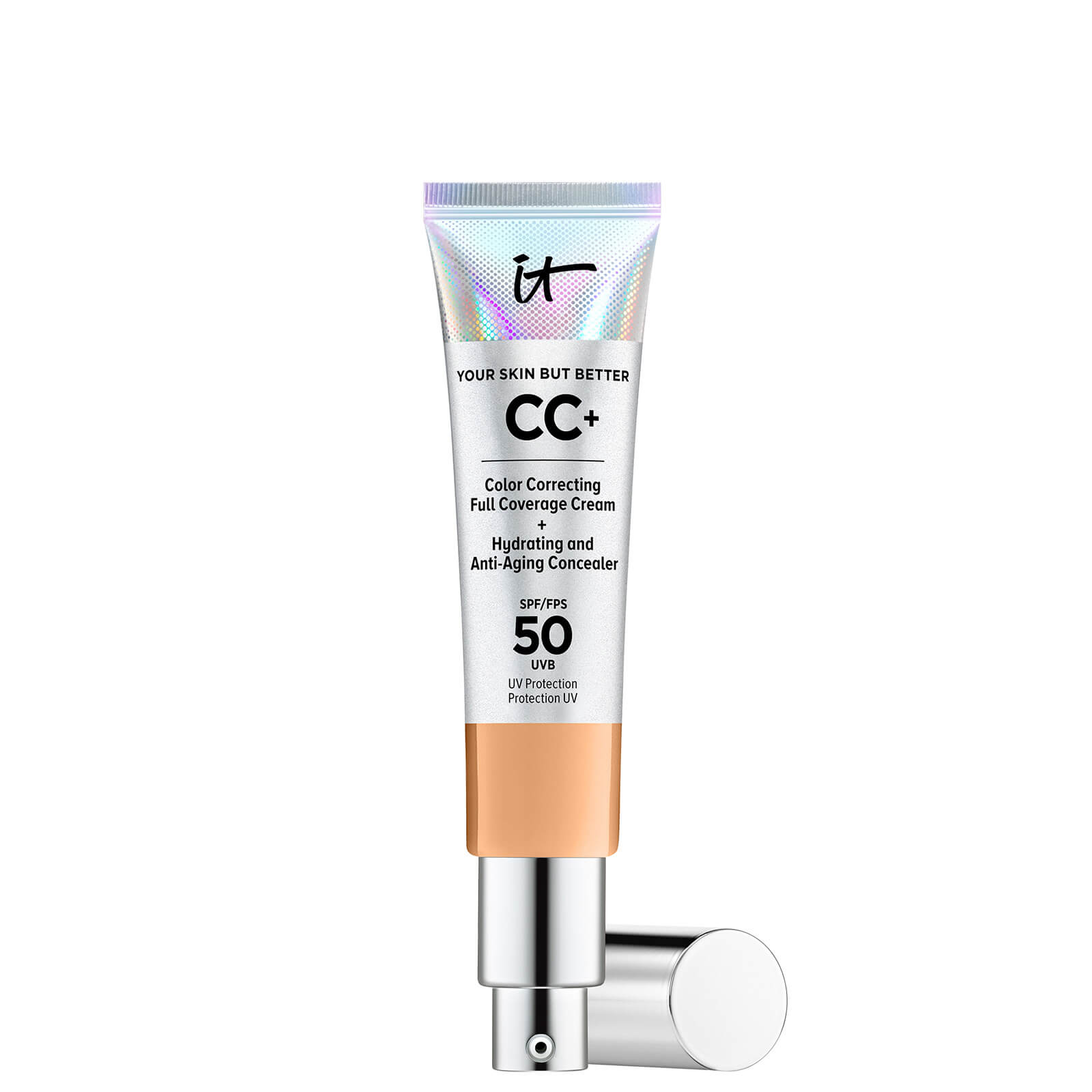 Купить IT Cosmetics Your Skin But Better CC+ Cream with SPF50 32ml (Various Shades) - Neutral Tan