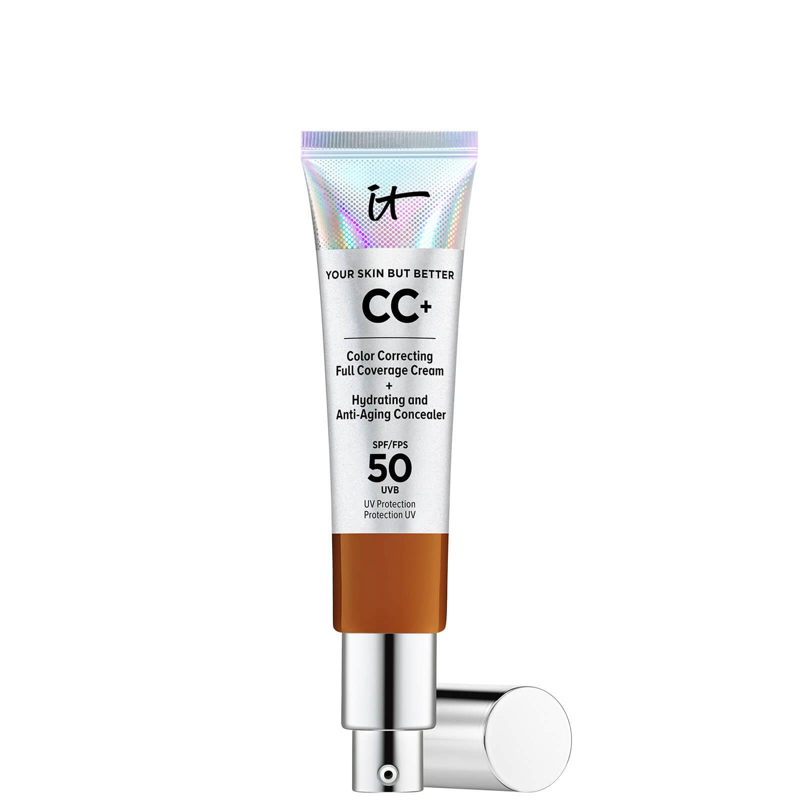 Купить IT Cosmetics Your Skin But Better CC+ Cream with SPF50 32ml (Various Shades) - Rich Honey