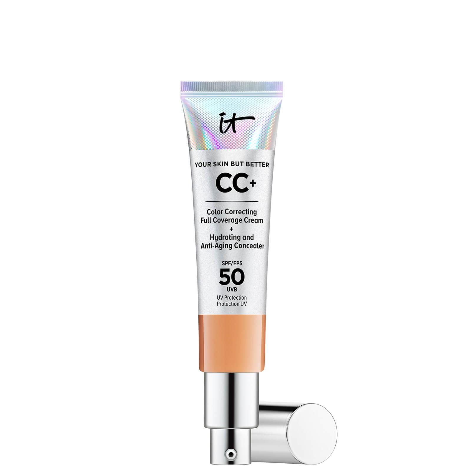 Купить IT Cosmetics Your Skin But Better CC+ Cream with SPF50 32ml (Various Shades) - Tan