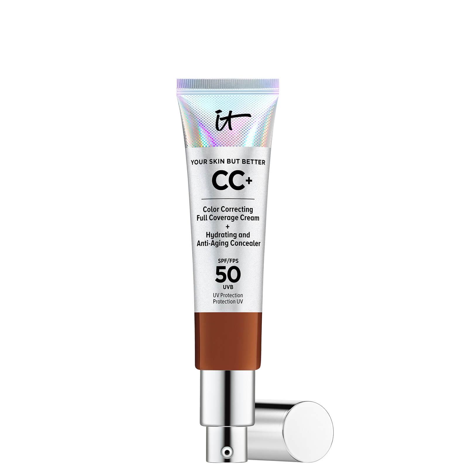 Купить IT Cosmetics Your Skin But Better CC+ Cream with SPF50 32ml (Various Shades) - Deep