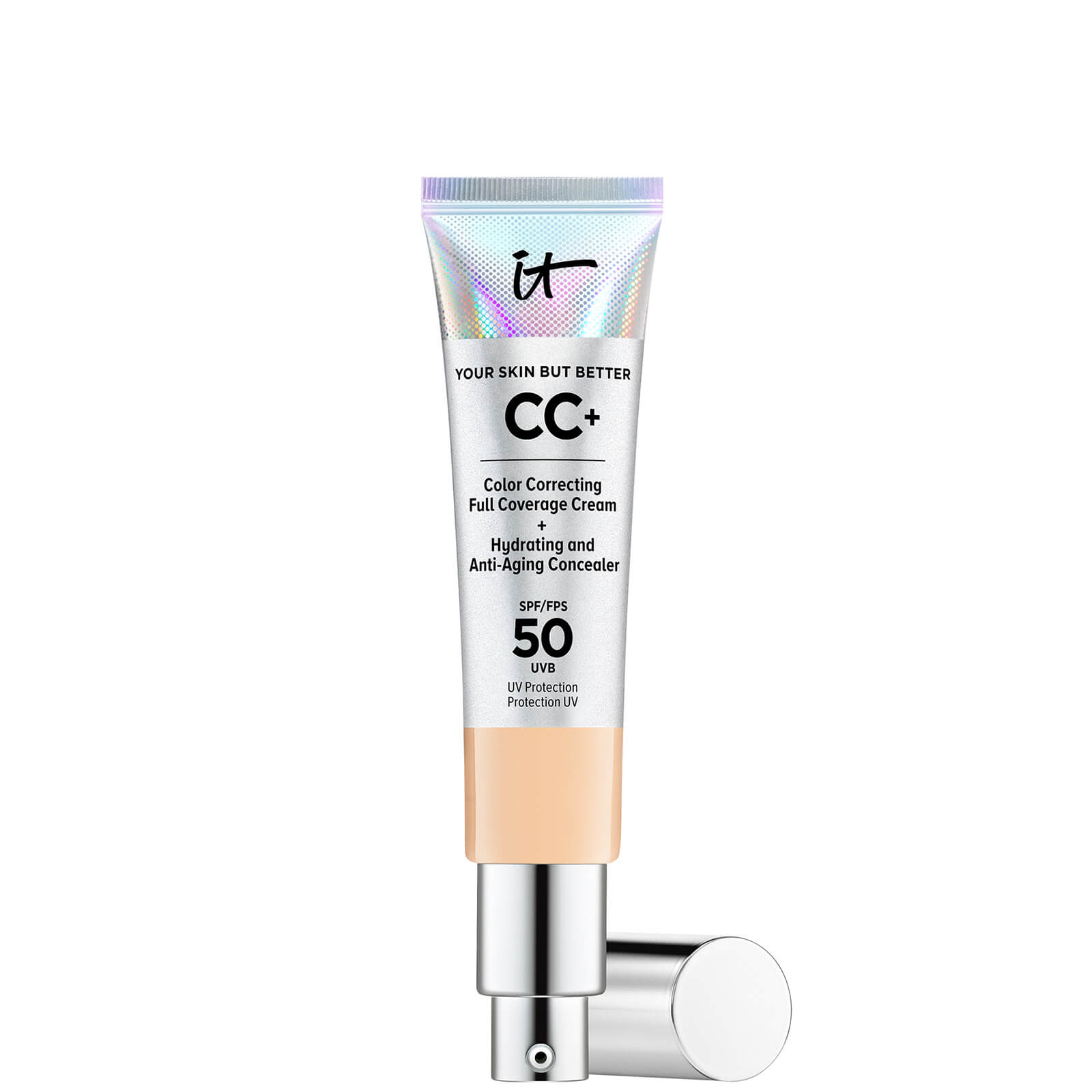 Купить IT Cosmetics Your Skin But Better CC+ Cream with SPF50 32ml (Various Shades) - Light Medium