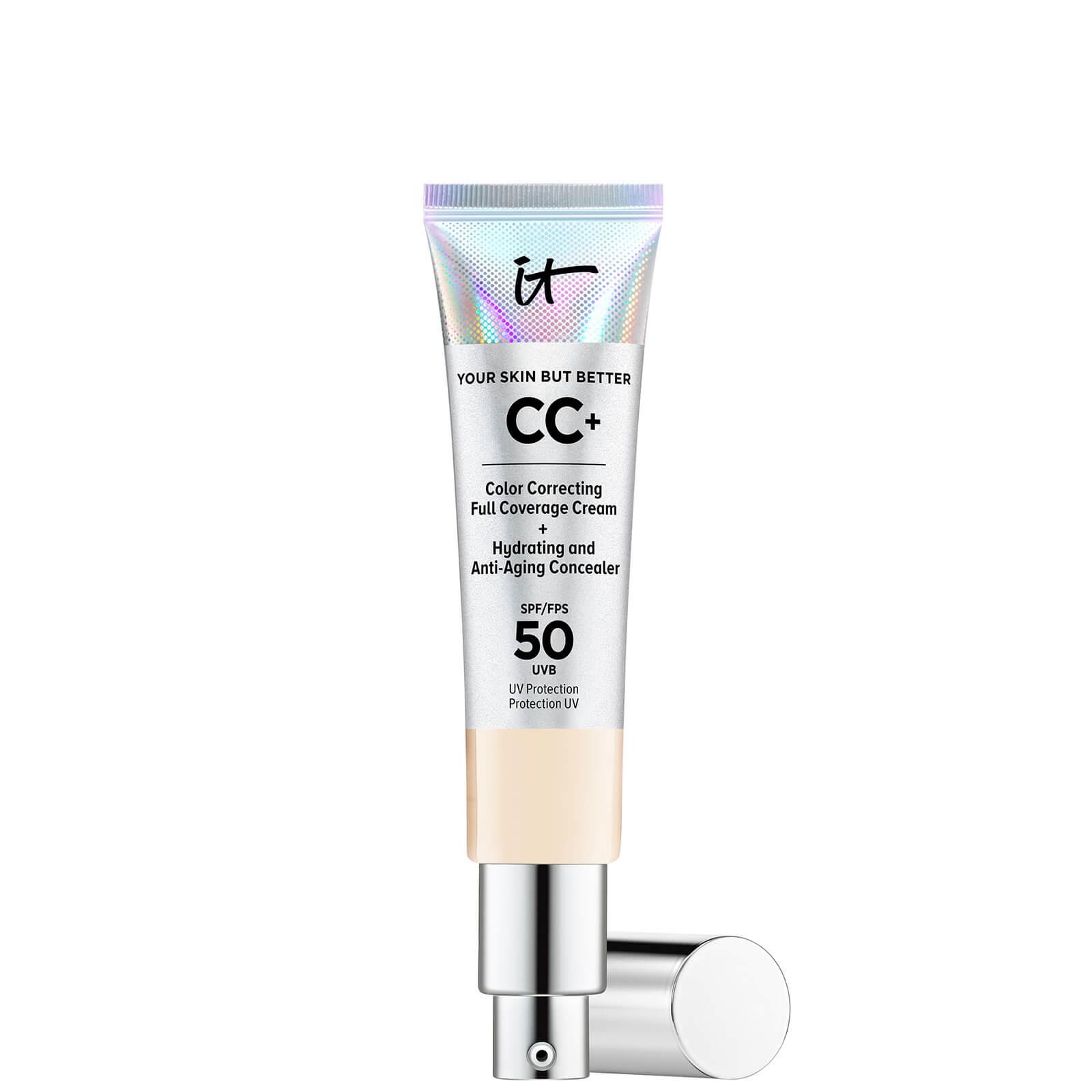 Купить IT Cosmetics Your Skin But Better CC+ Cream with SPF50 32ml (Various Shades) - Fair Ivory