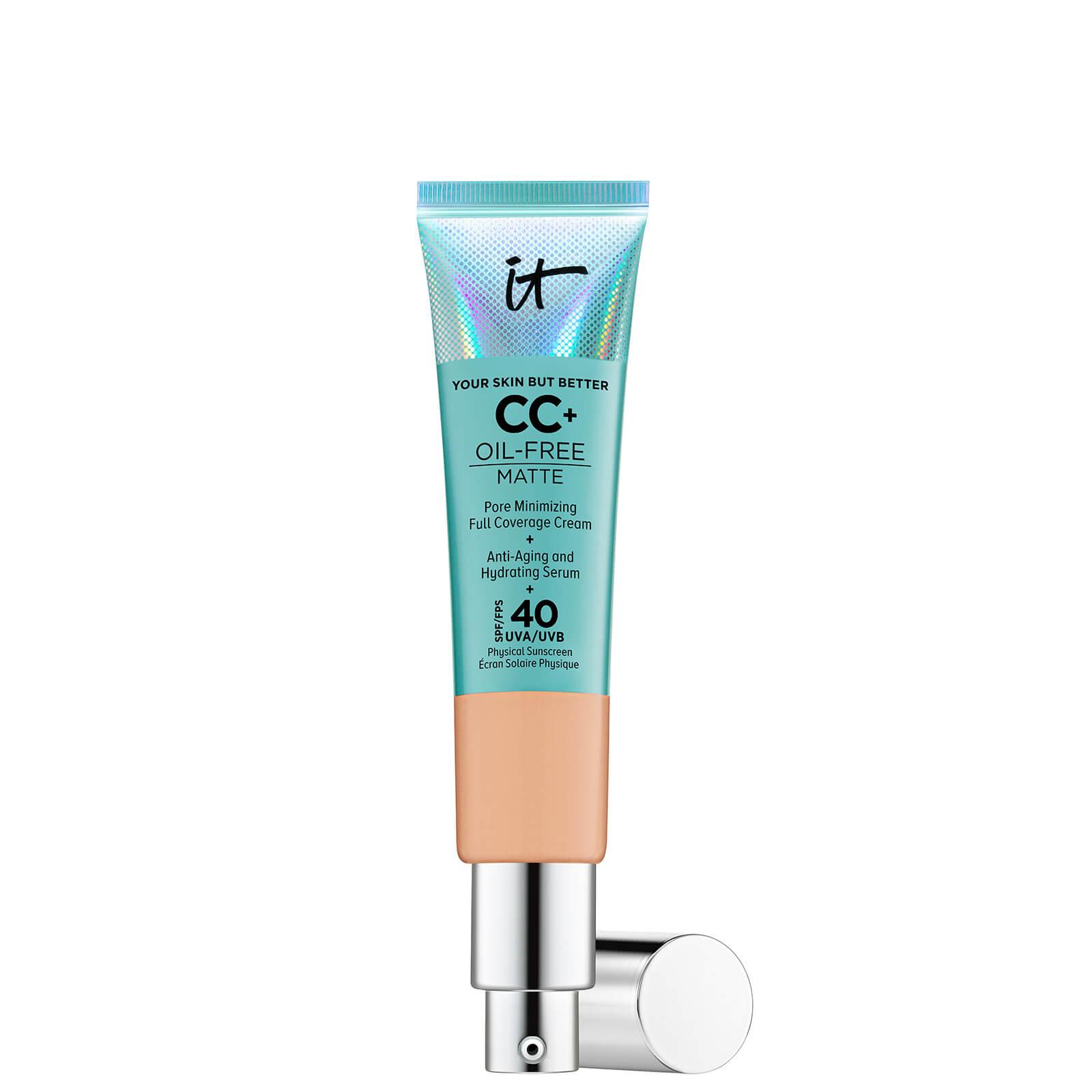 Купить IT Cosmetics Your Skin But Better CC+ Oil-Free Matte SPF40 32ml (Various Shades) - Medium Tan