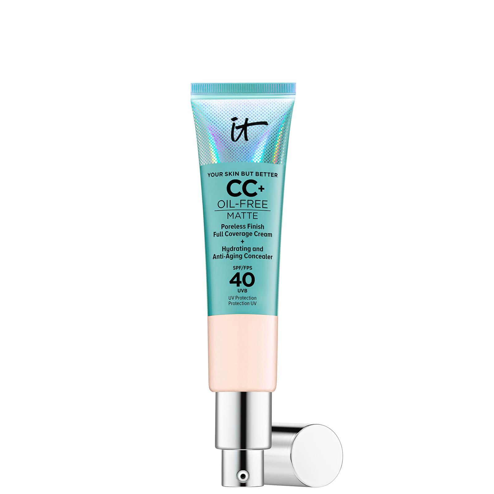 Купить IT Cosmetics Your Skin But Better CC+ Oil-Free Matte SPF40 32ml (Various Shades) - Fair Ivory