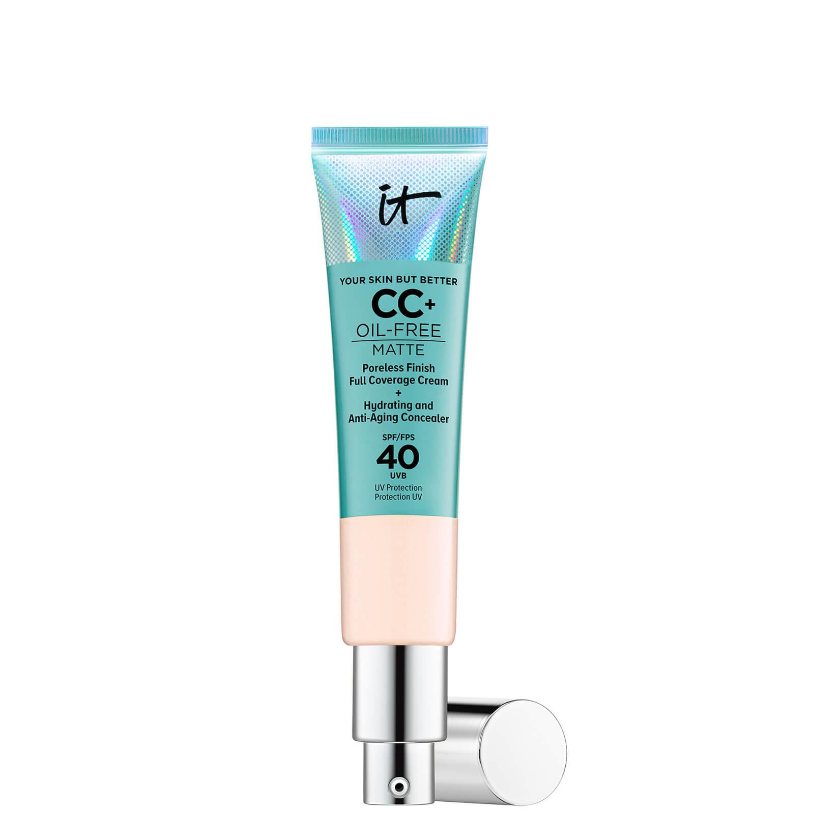 Купить IT Cosmetics Your Skin But Better CC+ Oil-Free Matte SPF40 32ml (Various Shades) - Fair Beige