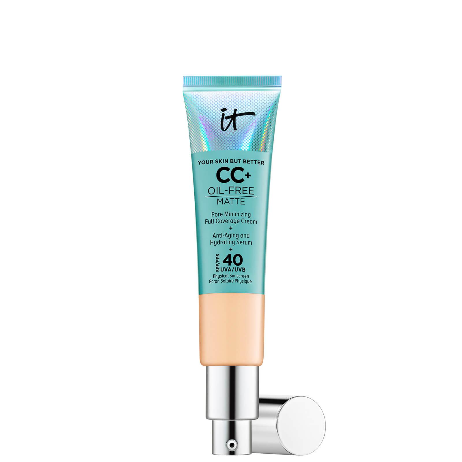 Купить IT Cosmetics Your Skin But Better CC+ Oil-Free Matte SPF40 32ml (Various Shades) - Medium