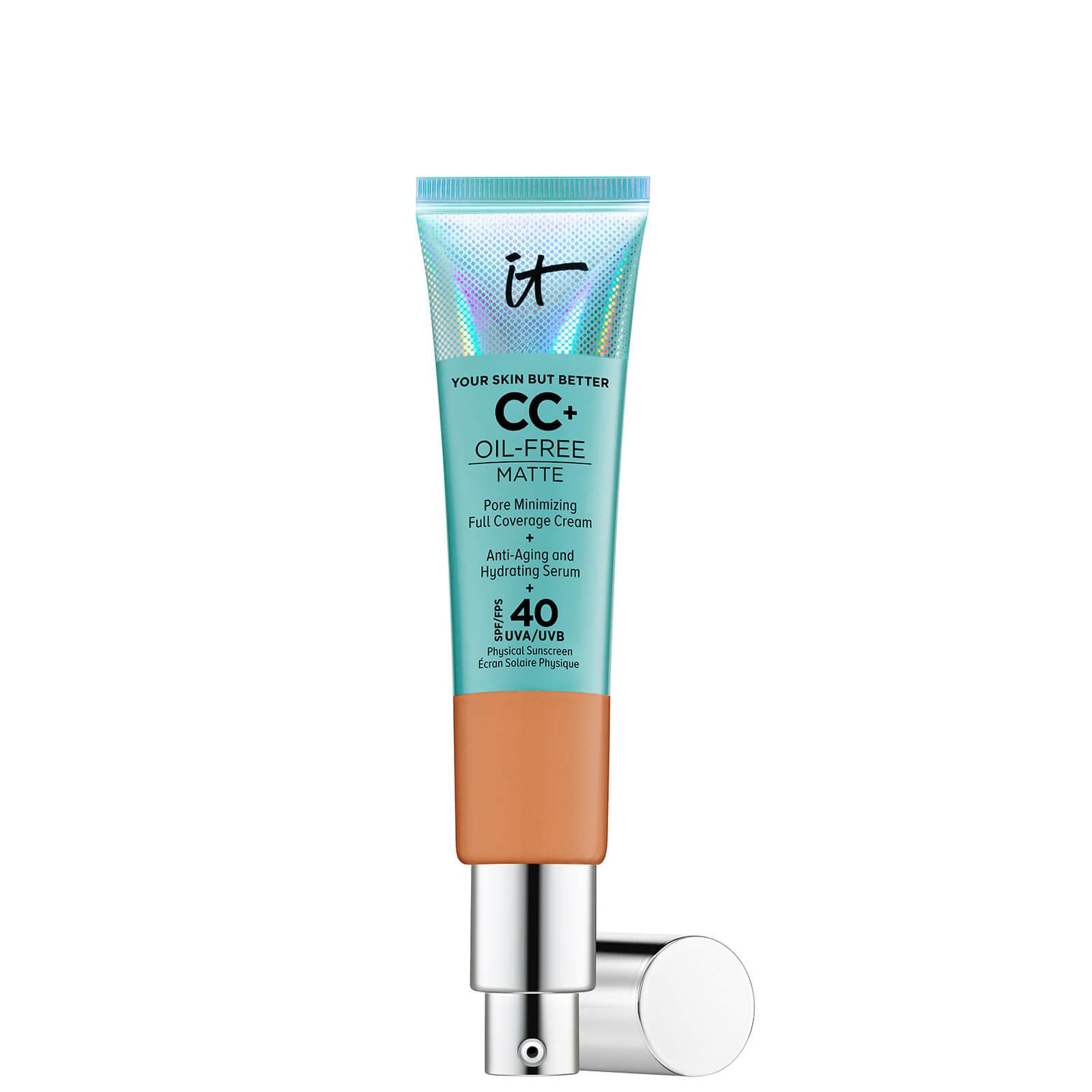 Купить IT Cosmetics Your Skin But Better CC+ Oil-Free Matte SPF40 32ml (Various Shades) - Tan
