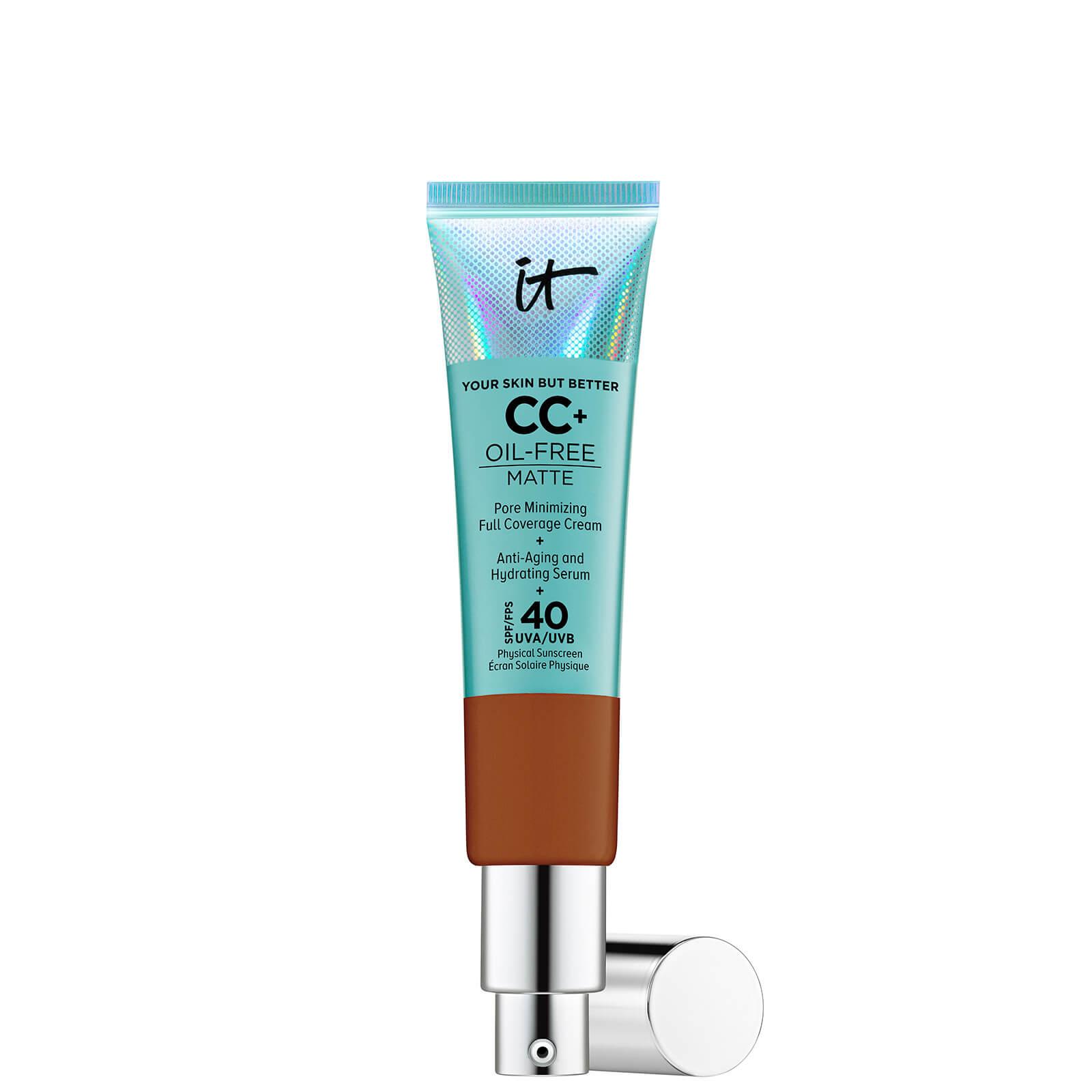 Купить IT Cosmetics Your Skin But Better CC+ Oil-Free Matte SPF40 32ml (Various Shades) - Rich Honey